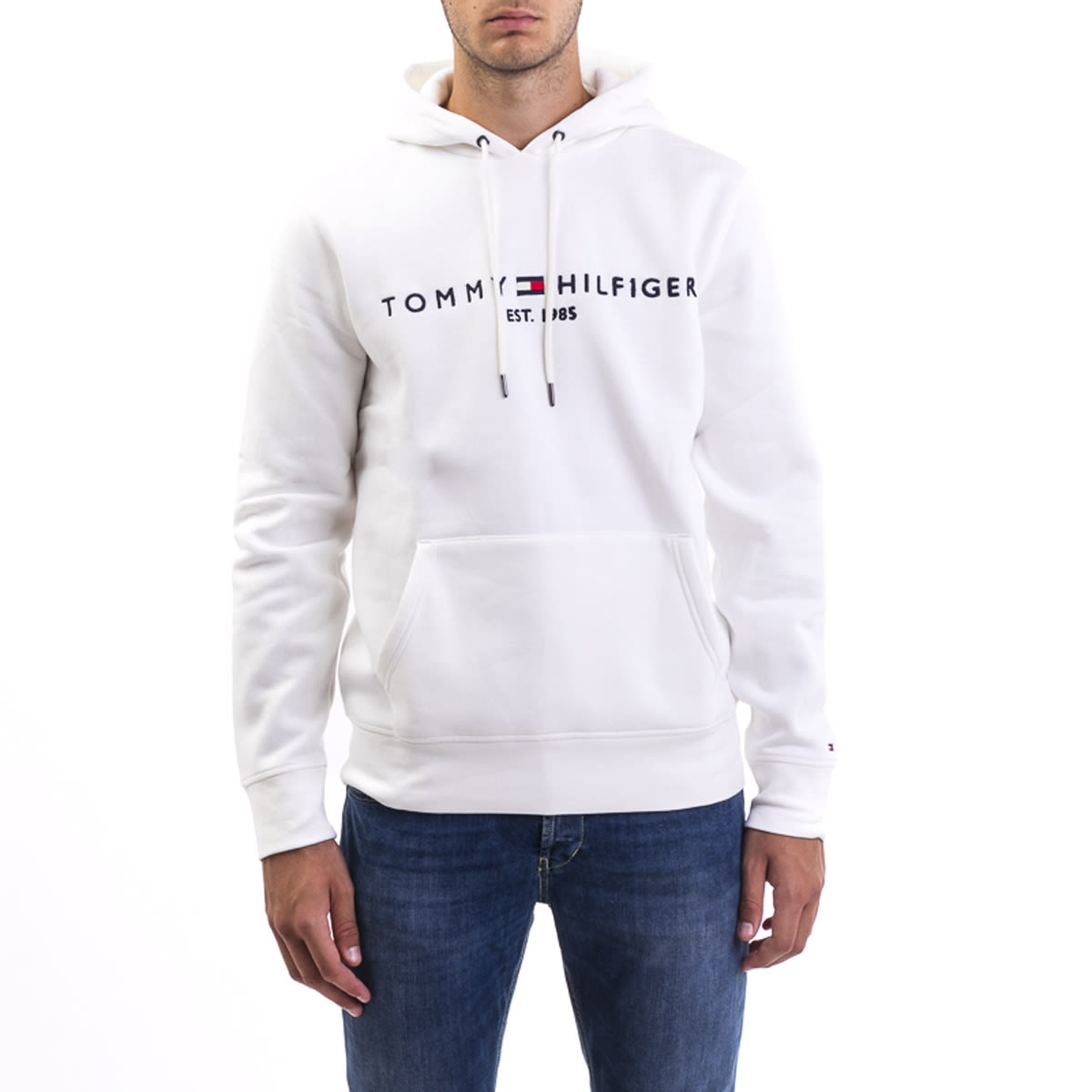 on sale f8d73 9203d Felpa Tommy Hilfiger In Misto Cotone