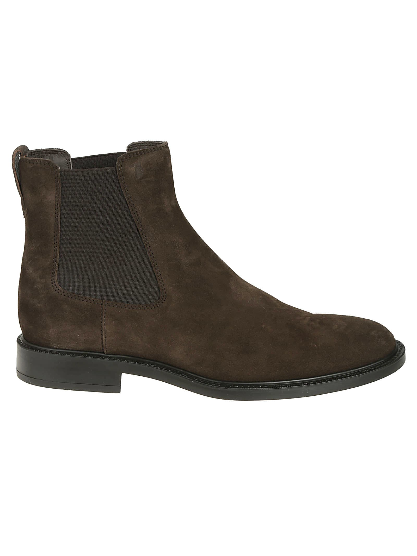 Tods Embossed Ankle Boots