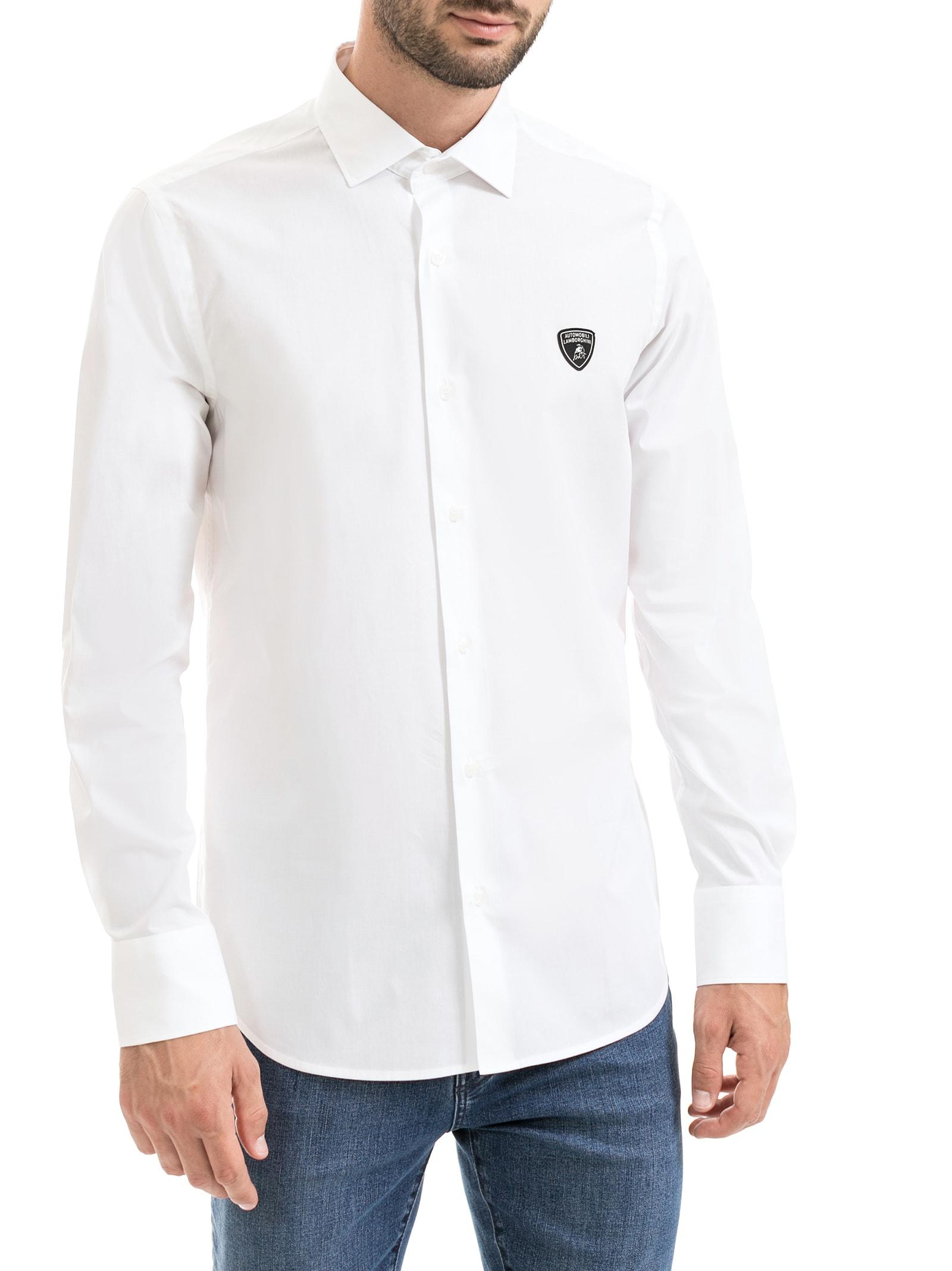 Essential Shirt In Stretch Poplin