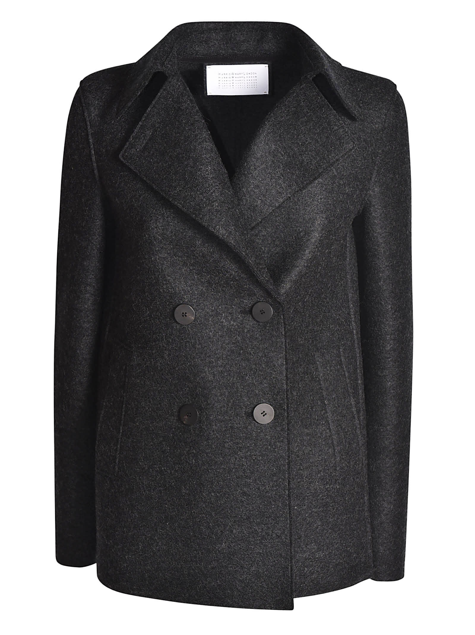 Harris Wharf London Classic Pea Coat