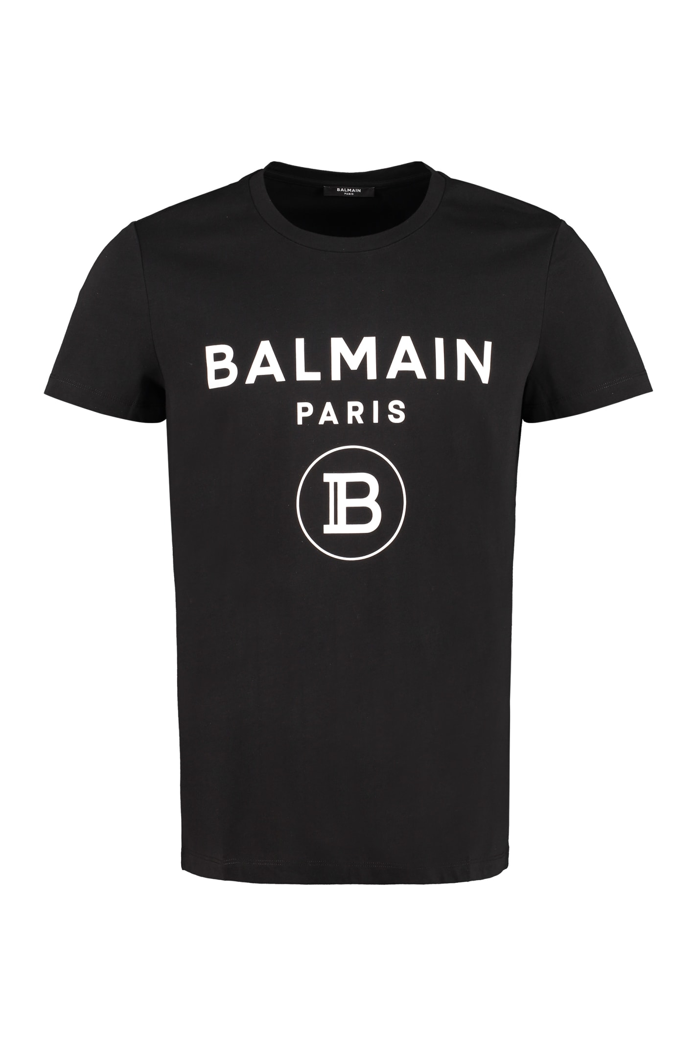Balmain Cottons LOGO COTTON T-SHIRT