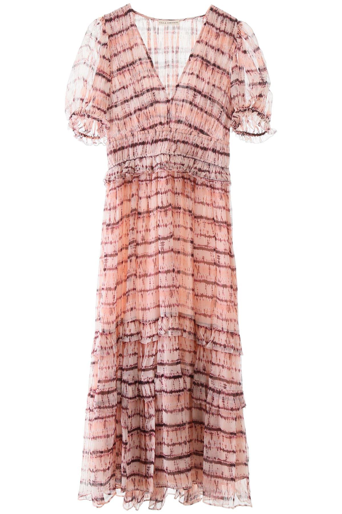 Buy Ulla Johnson Elodie Tie-dye Dress online, shop Ulla Johnson with free shipping