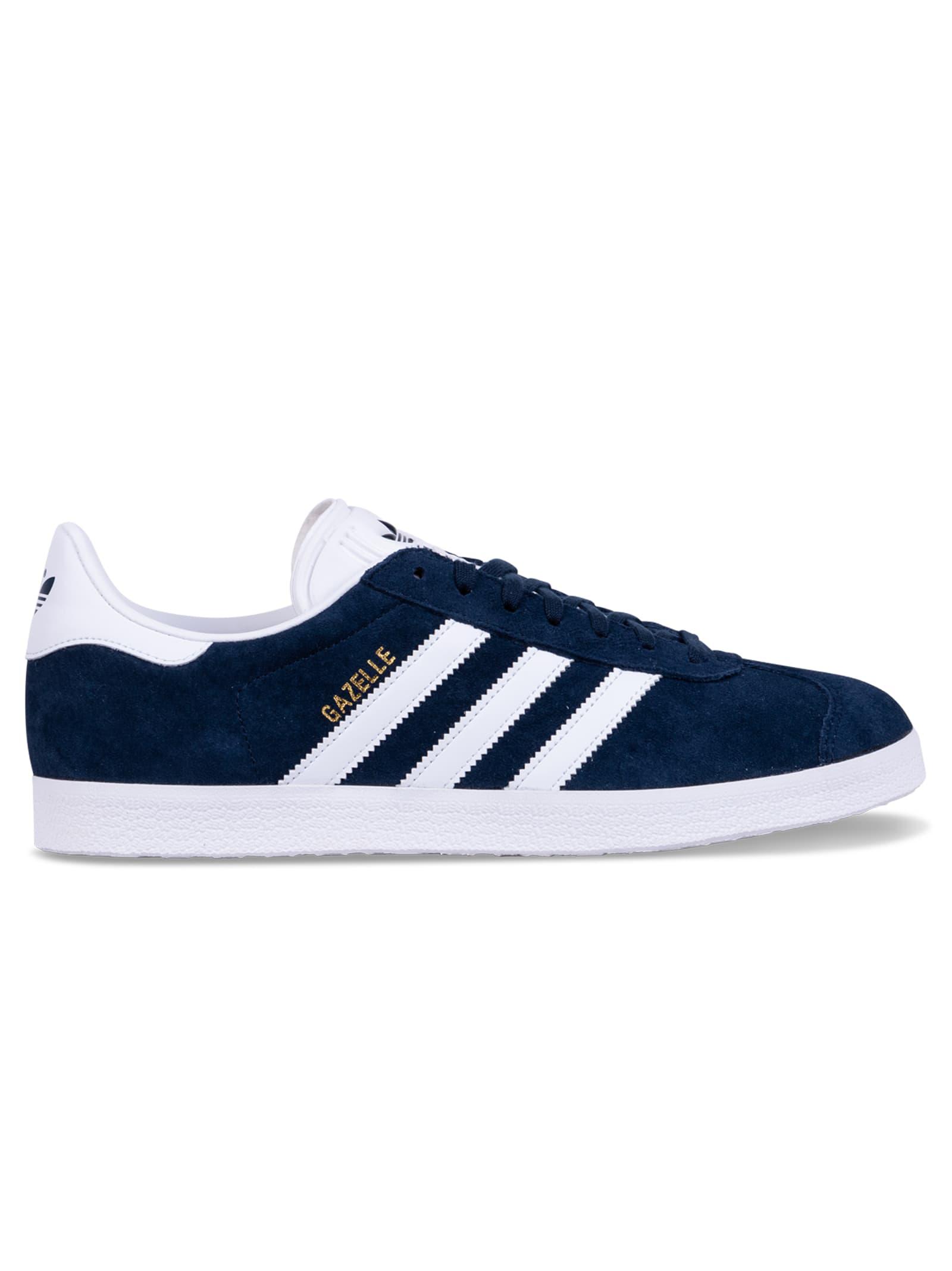 adidas gazelle bianche blu
