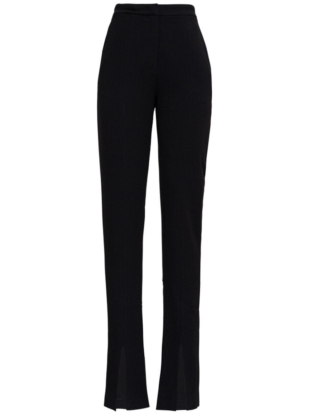 Helena Black Twill Trousers