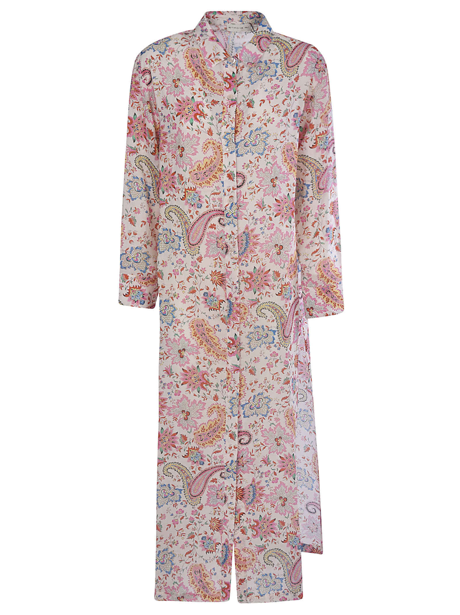 Buy Etro All-over Paisley Printed Maxi Dress online, shop Etro with free shipping
