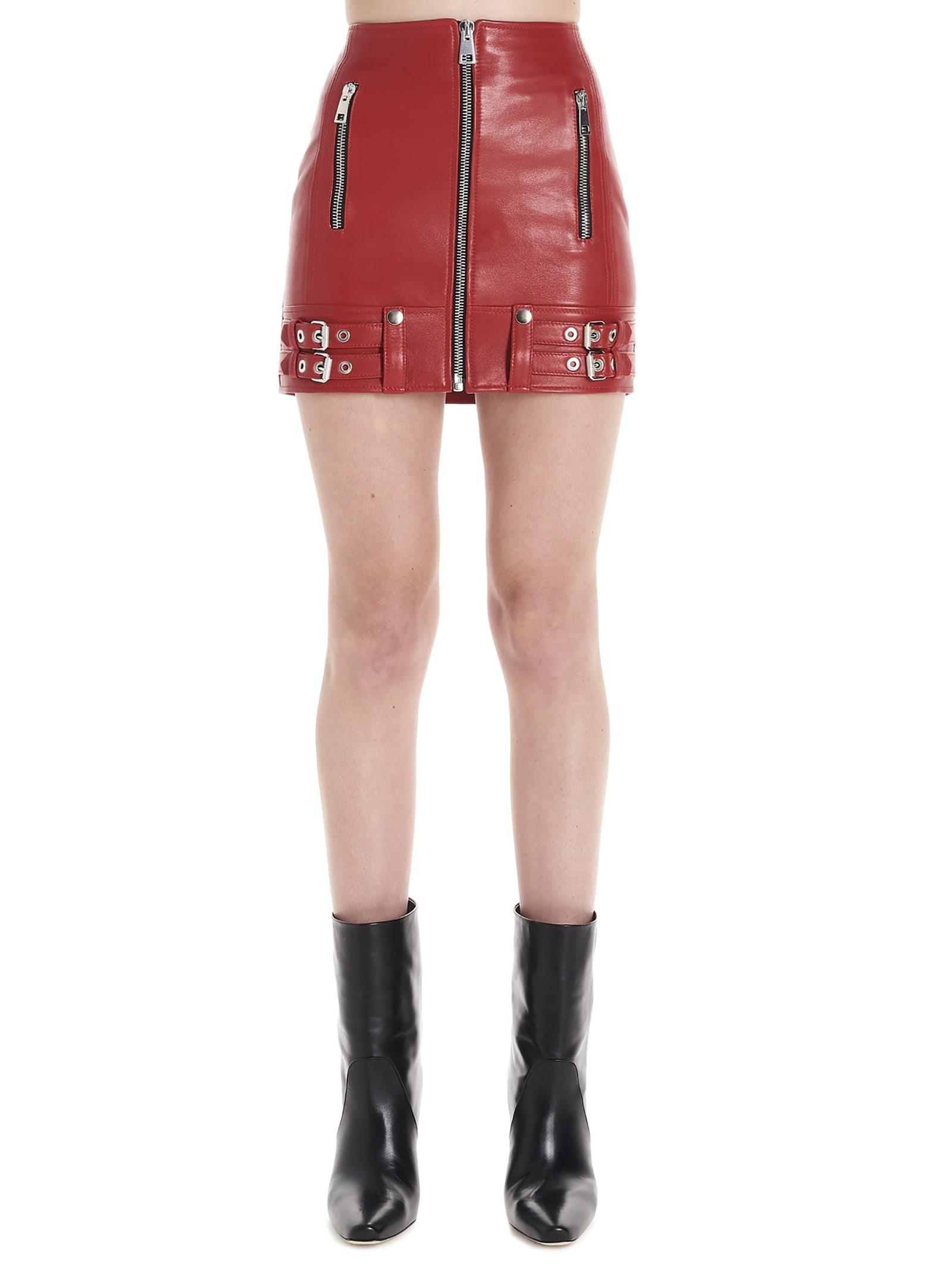Manokhi biker Skirt