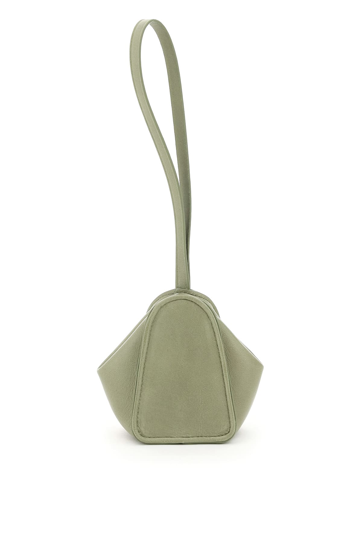 Lemaire LEATHER BUCKET PURSE