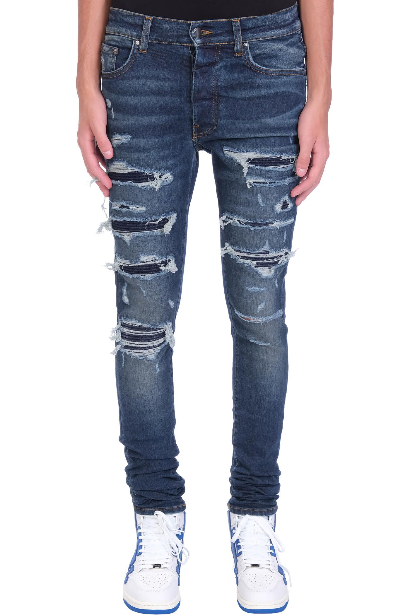 AMIRI Jeans In Blue Cotton