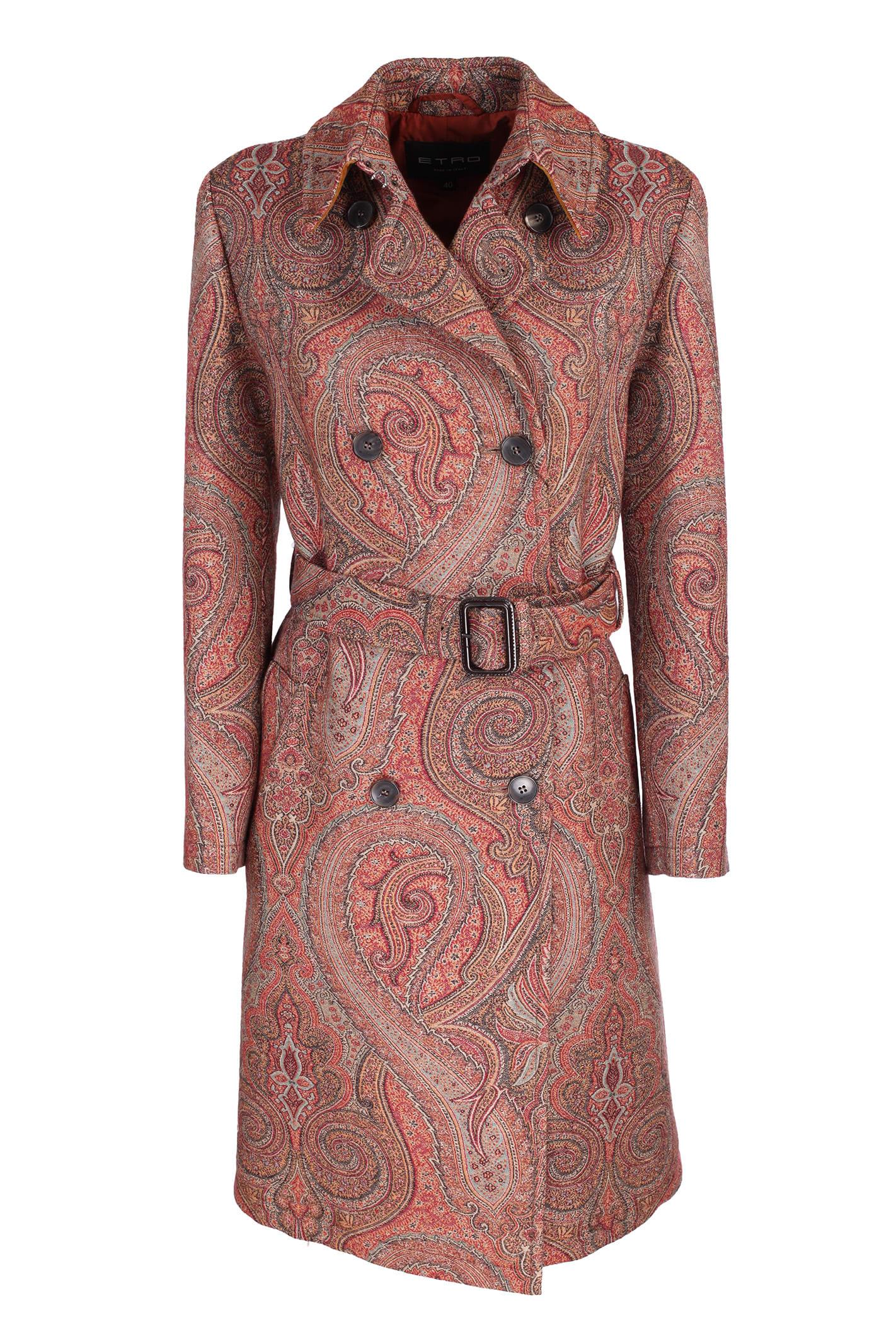 Etro Paisley coat
