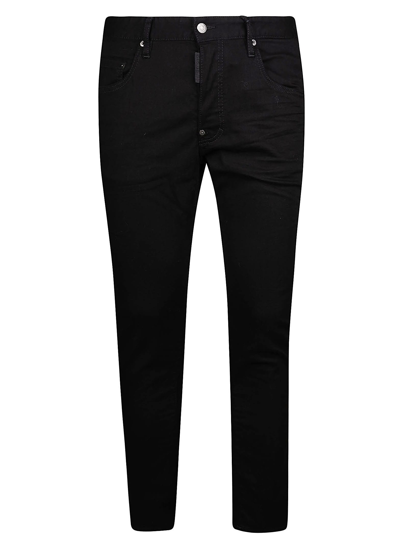 Dsquared2 Classic Fitted Jeans