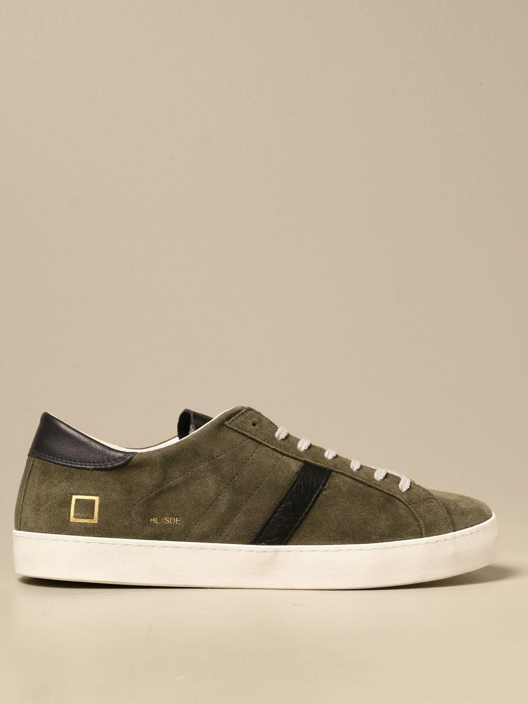D.a.t.e. Sneakers Hill Low D.a.t.e. Sneakers In Vintage Suede
