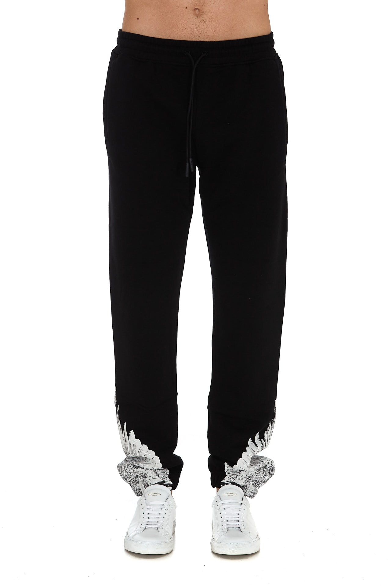 MARCELO BURLON COUNTY OF MILAN WINGS SWEATPANTS