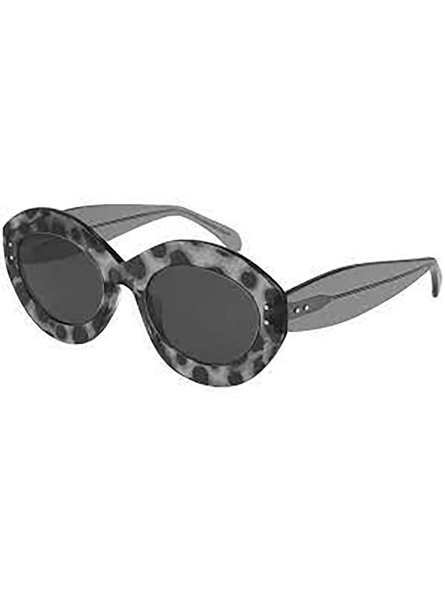 Alaïa Aa0004s Sunglasses In Grey Grey Grey