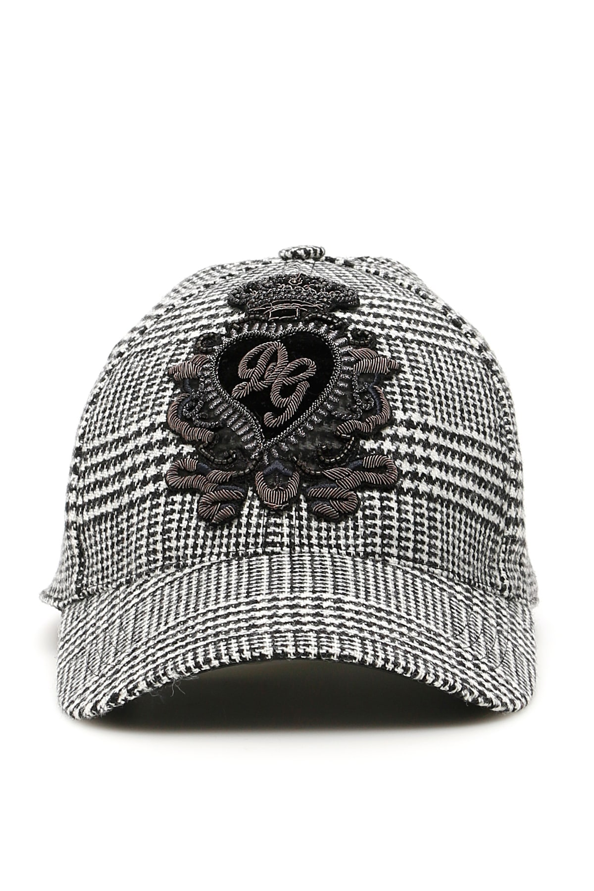 179bc57fa Dolce & Gabbana Prince Of Wales Cap With Dg Patch