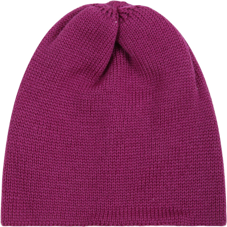 Plum Hat For Baby Girl