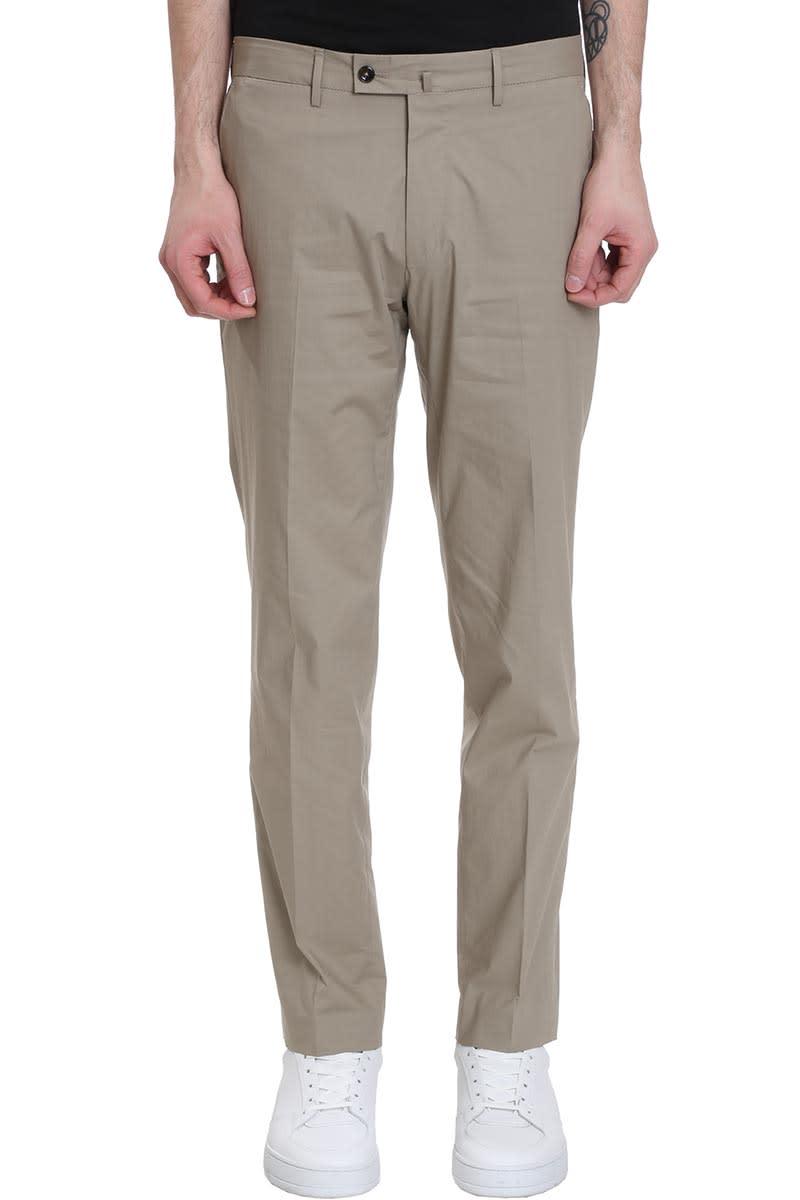 PT01 Pants In Beige Cotton