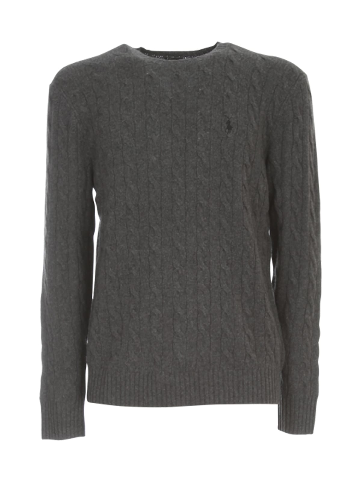 Polo Ralph Lauren Wool Sweater W/braid