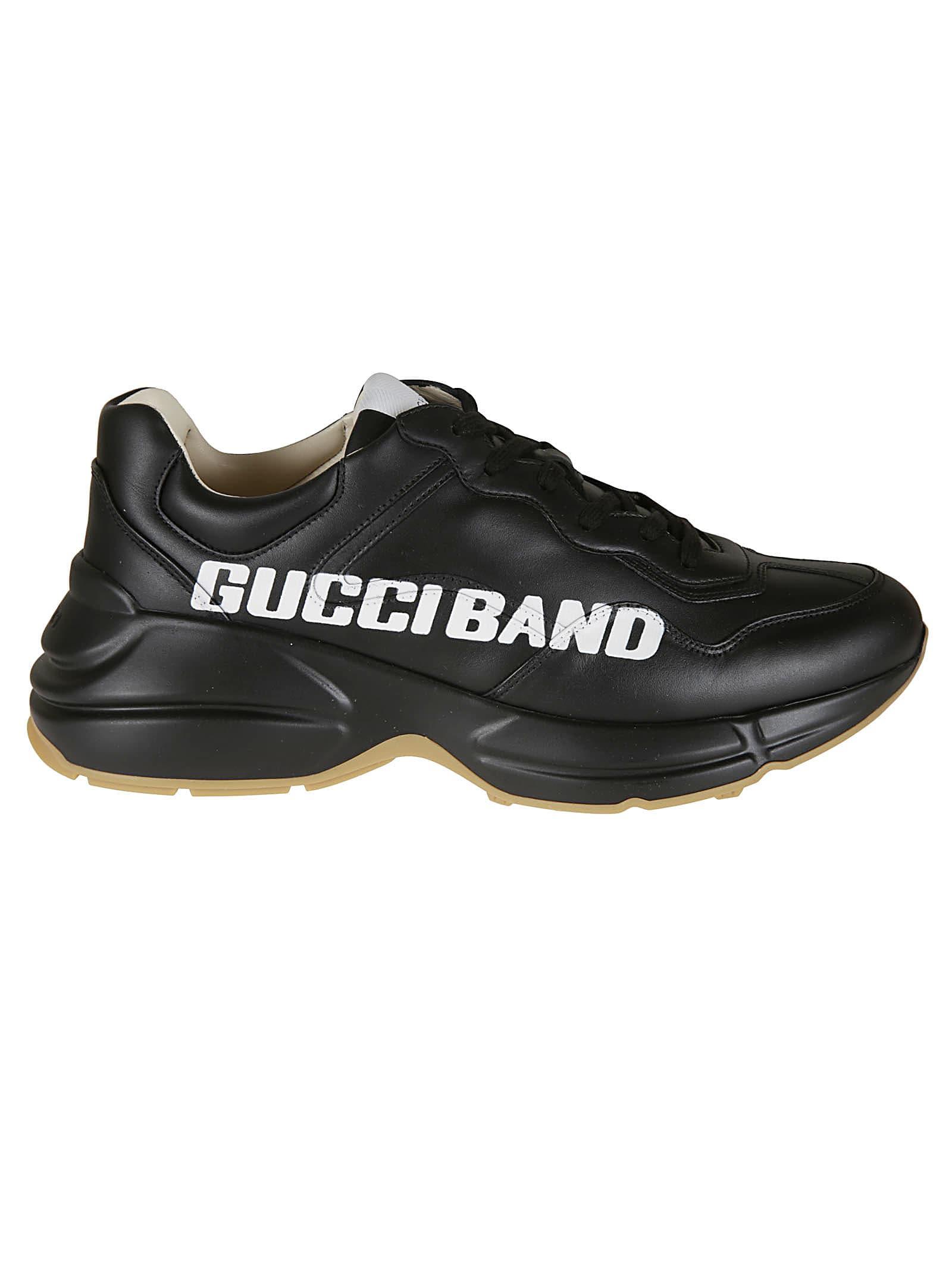 Gucci Logo Printed Sneakers