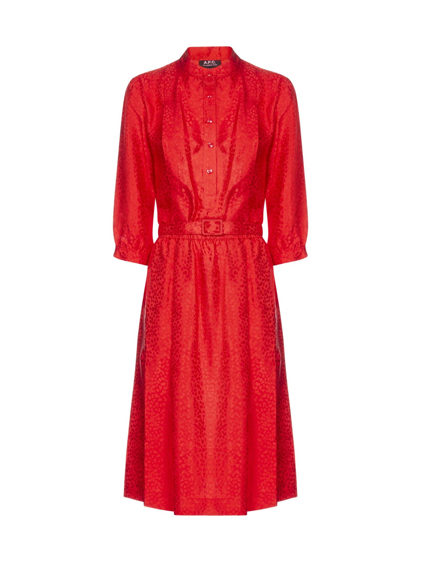 Buy A.P.C. Ls Dress online, shop A.P.C. with free shipping