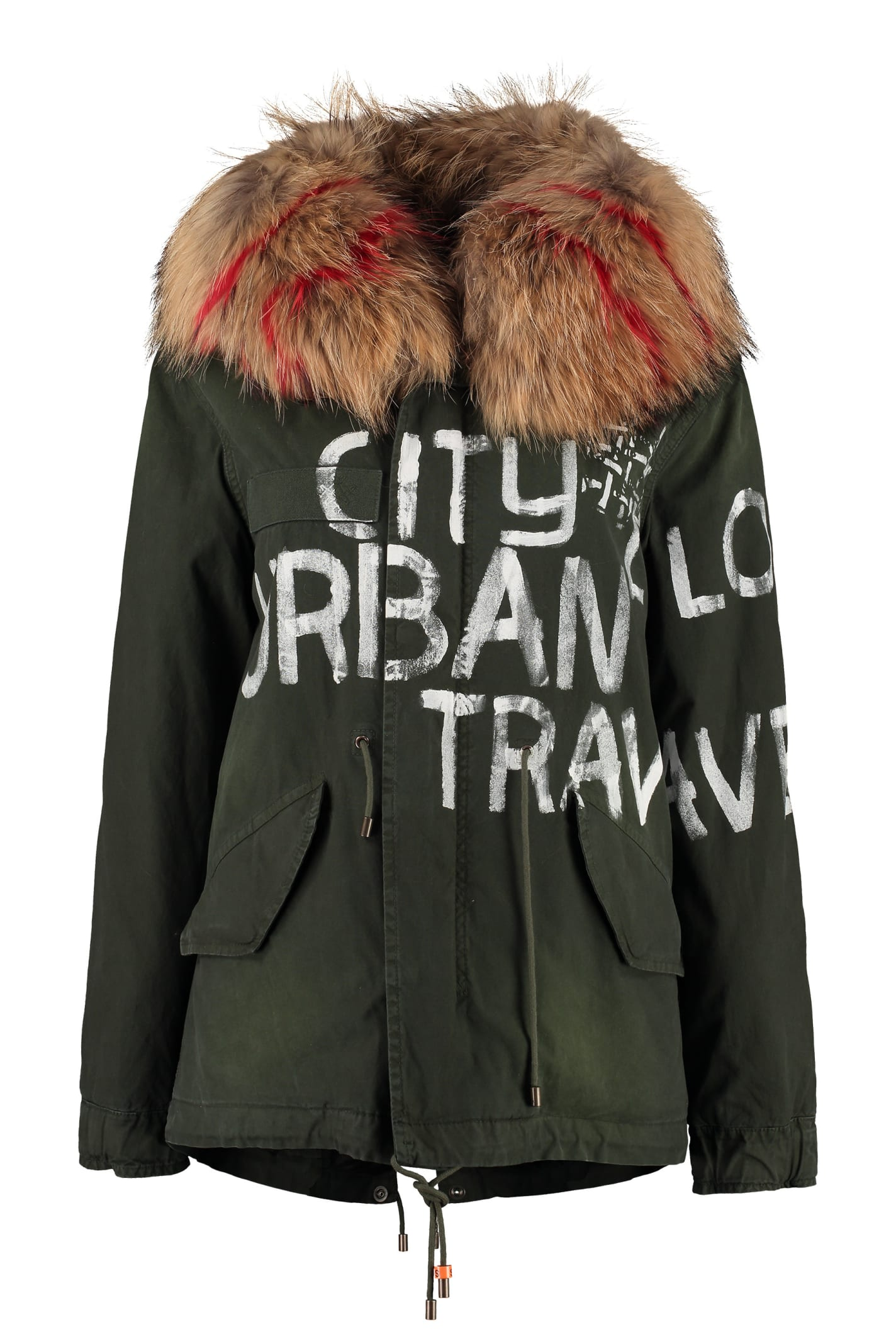 Mr & Mrs Italy Jazzy Fur Hood Short Parka