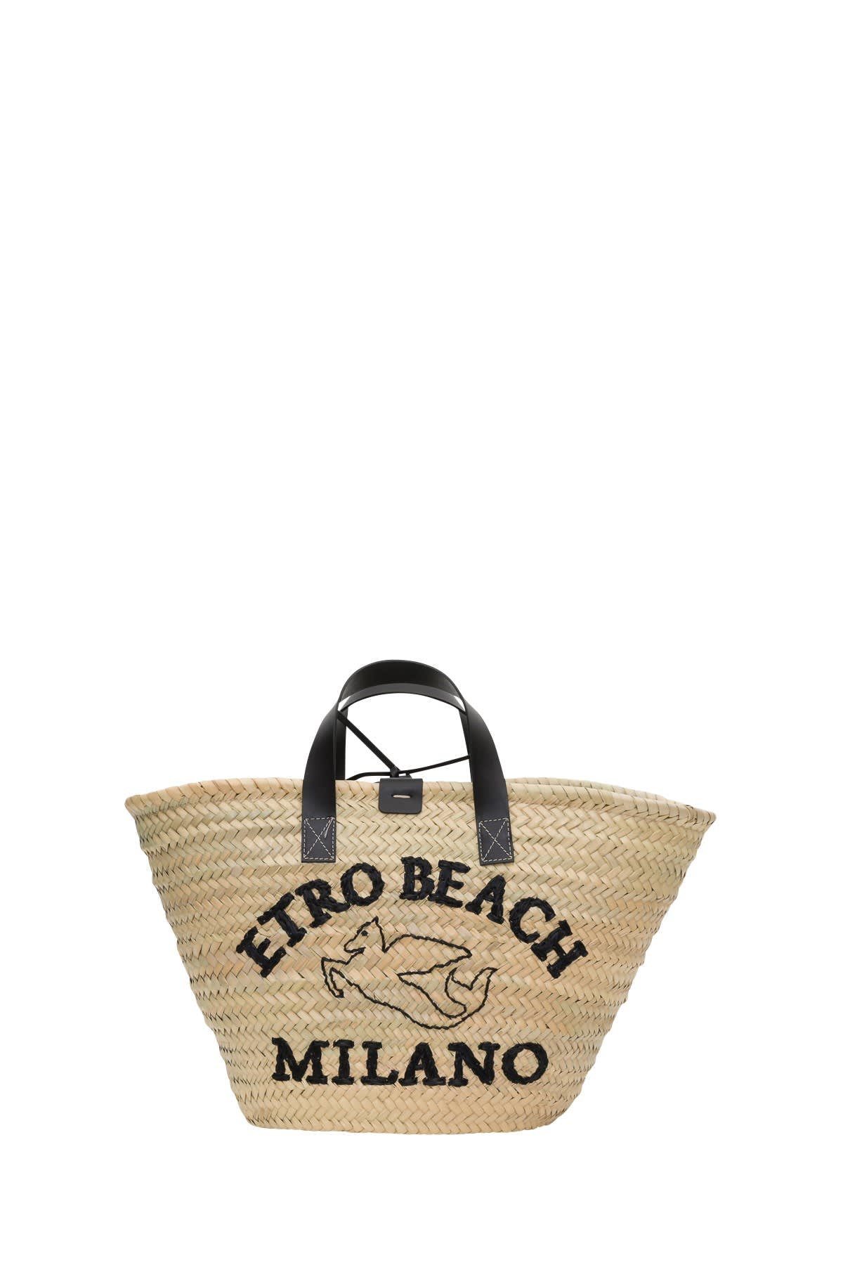 Etro Tote Shopper With Embroidery