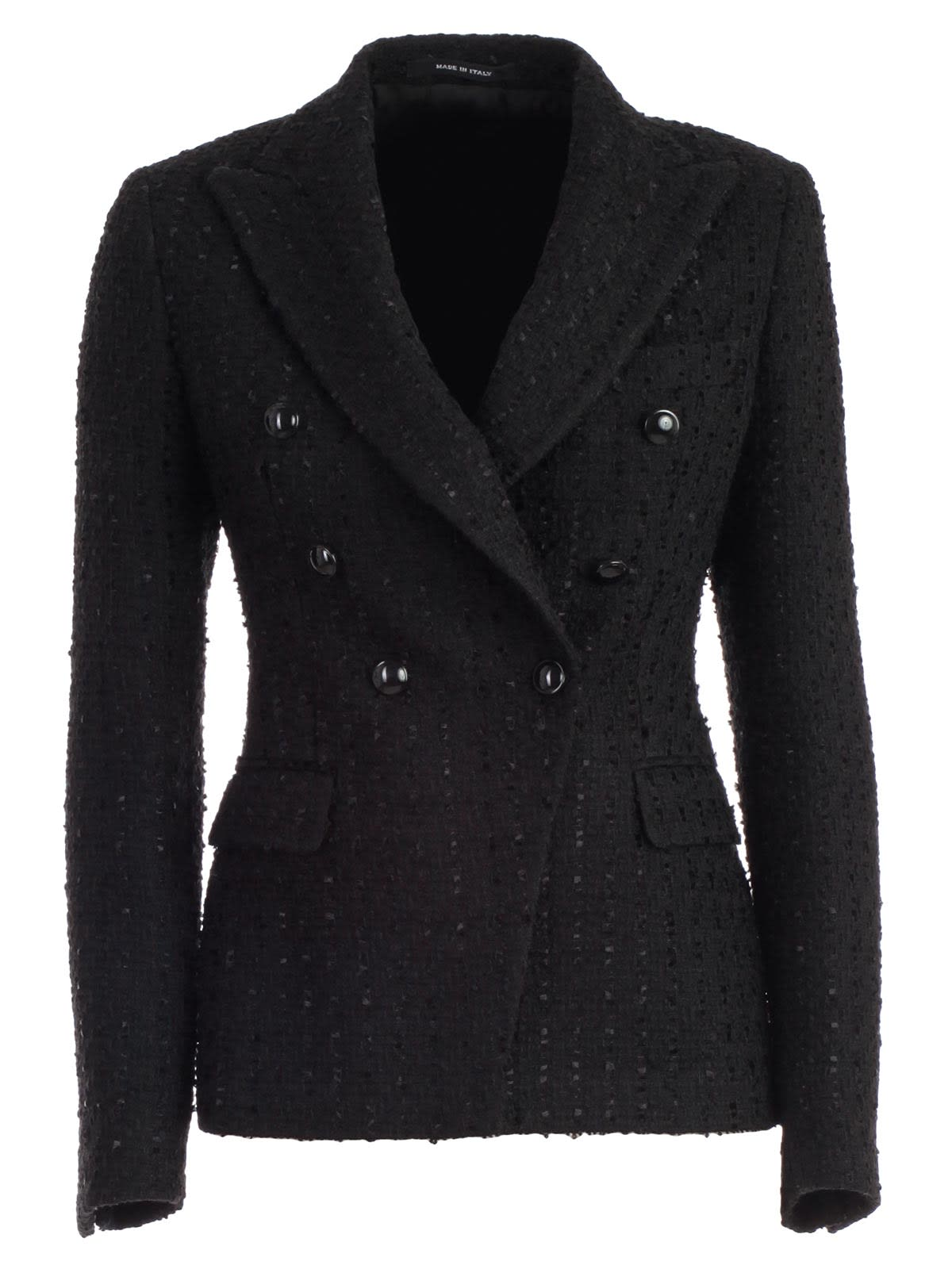 Tagliatore Coat Double Breasted W/slit And 6 Buttons