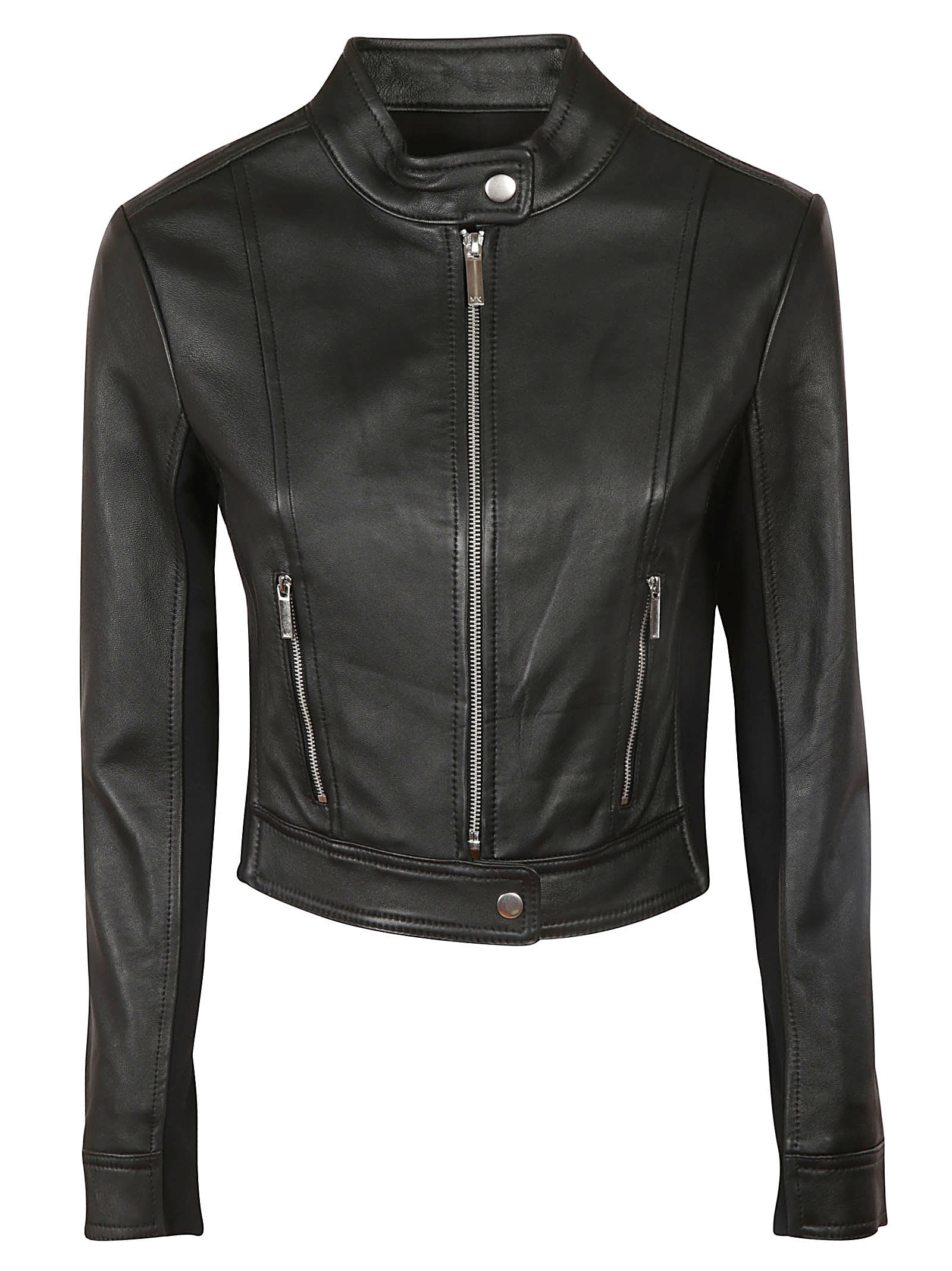 Michael Kors Zipped Biker Jacket