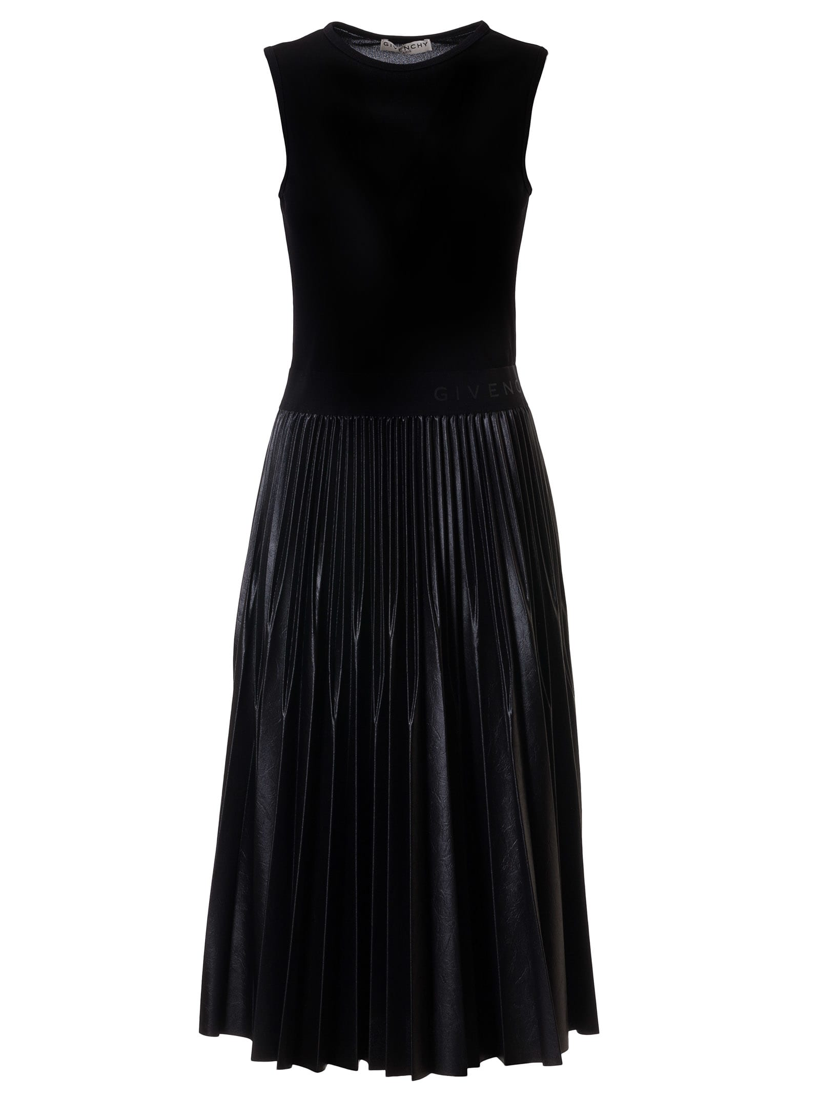 Buy Givenchy Sleeveless Pleated Skirt Dress online, shop Givenchy with free shipping