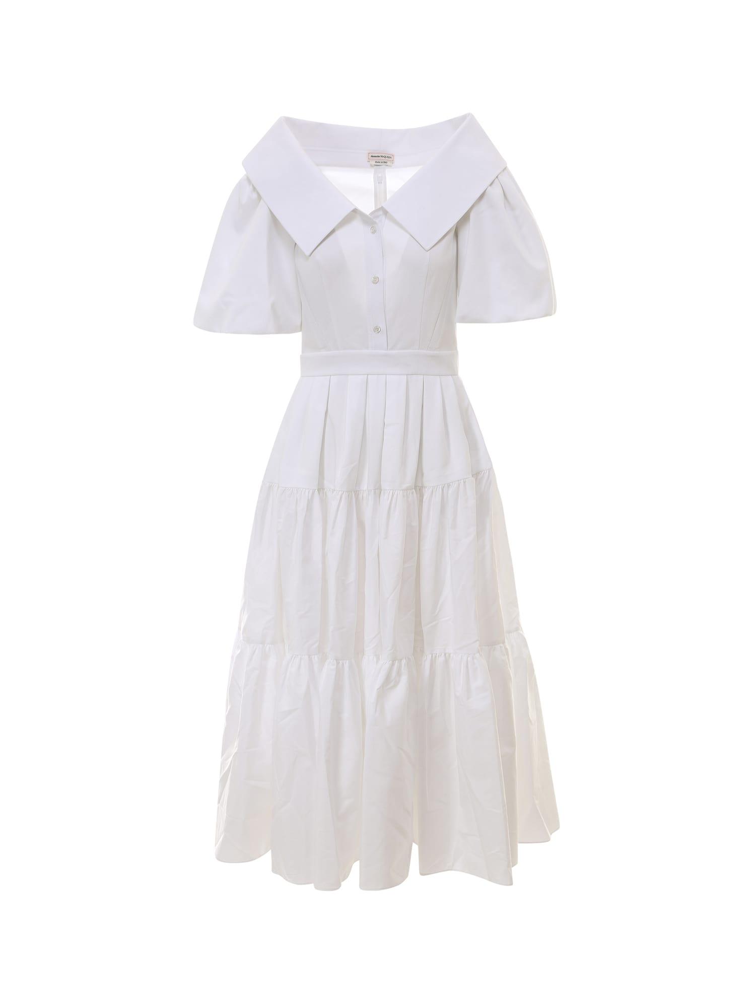 Alexander Mcqueen Cottons DRESS