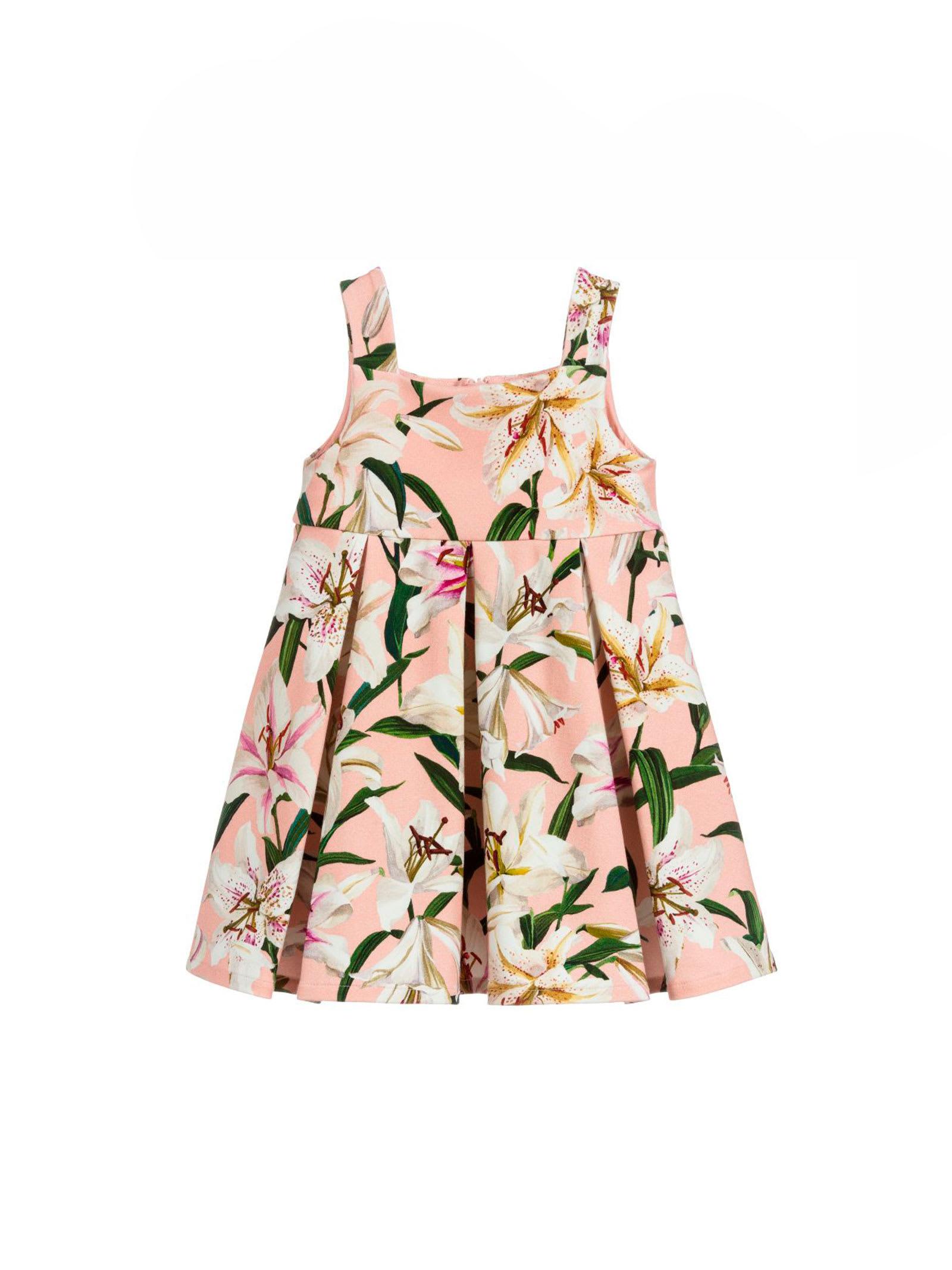 Dolce & Gabbana Dolce E Gabbana Kids Pink Baby Dress