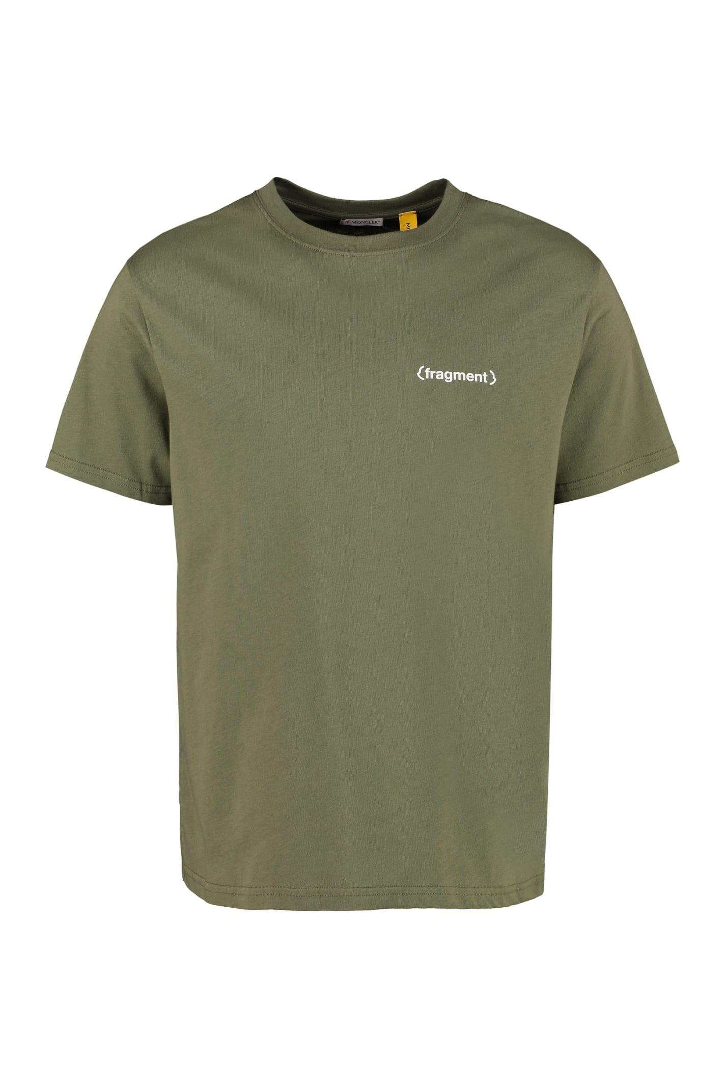 Moncler Genius Printed Cotton T-shirt