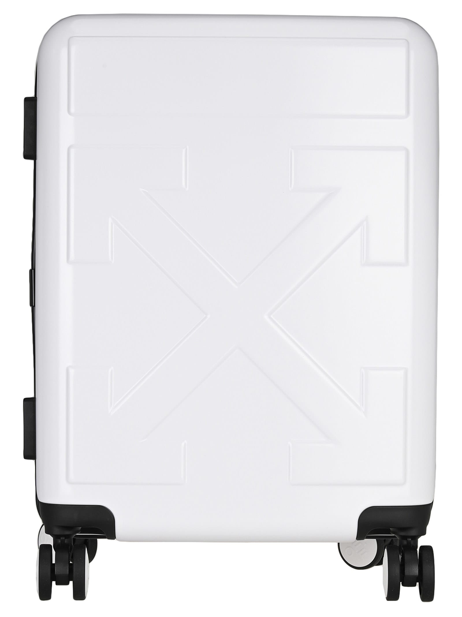 Off White Quote Luggage