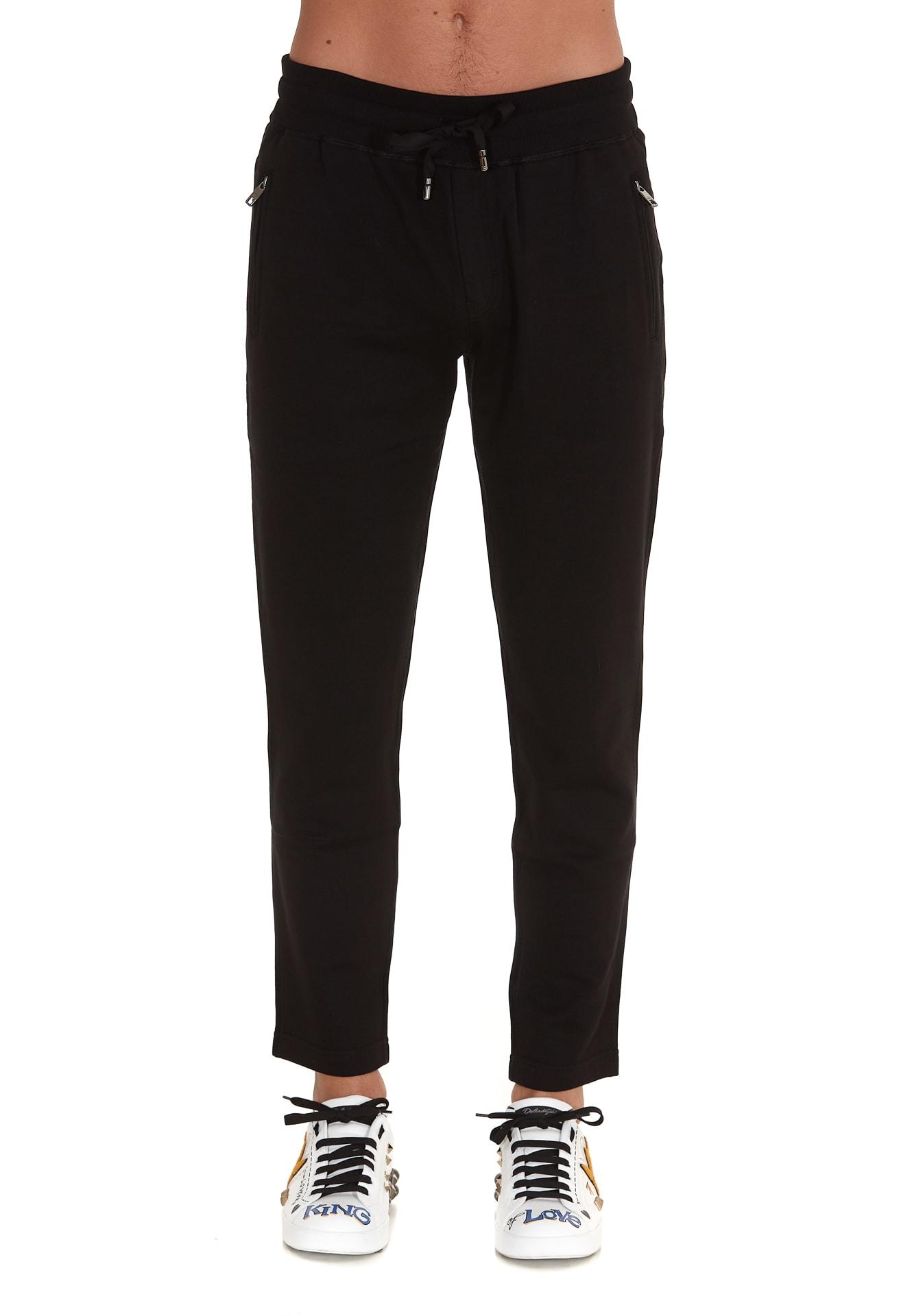 Dolce & Gabbana Pants In Black