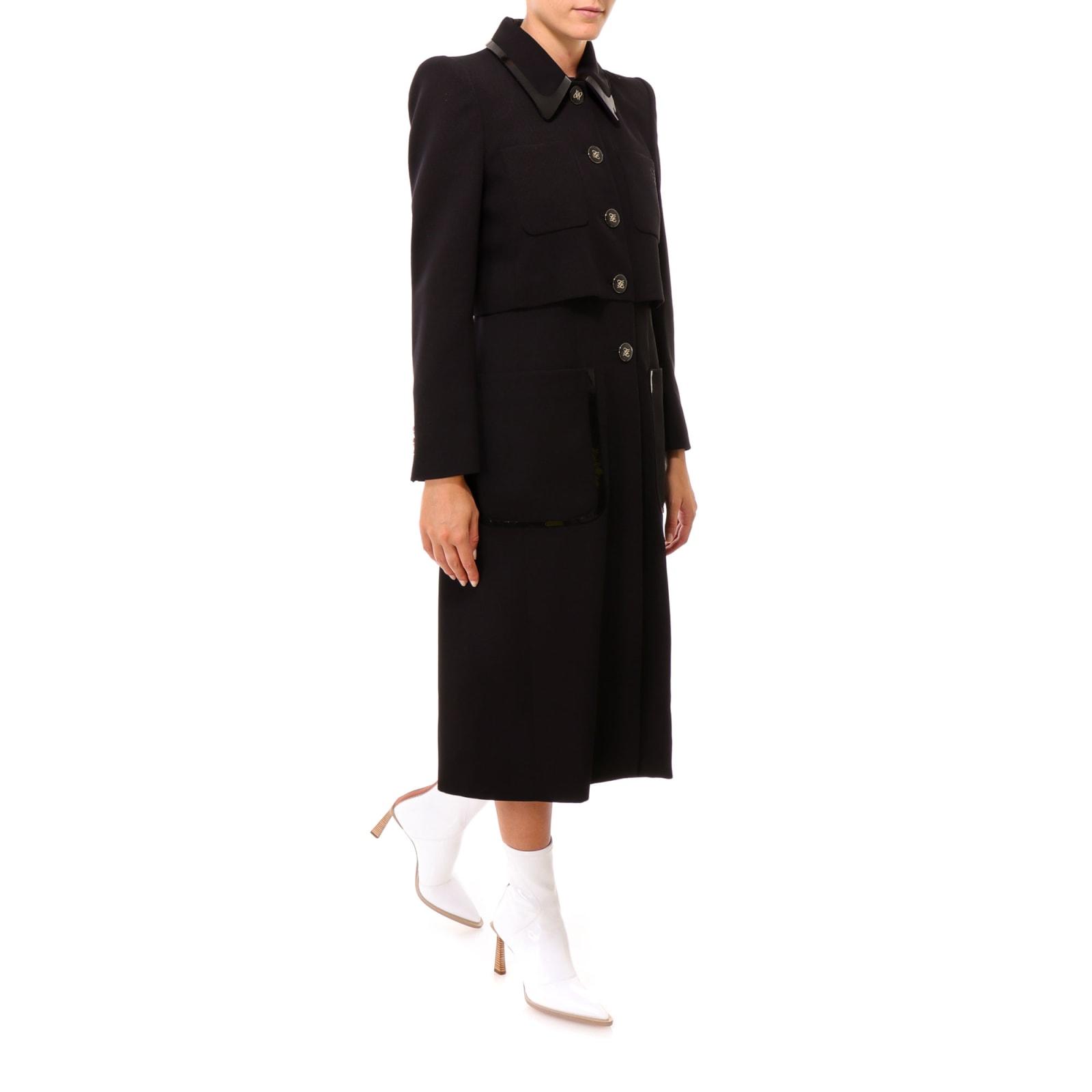 Fendi Soprabito Gabardine Coat