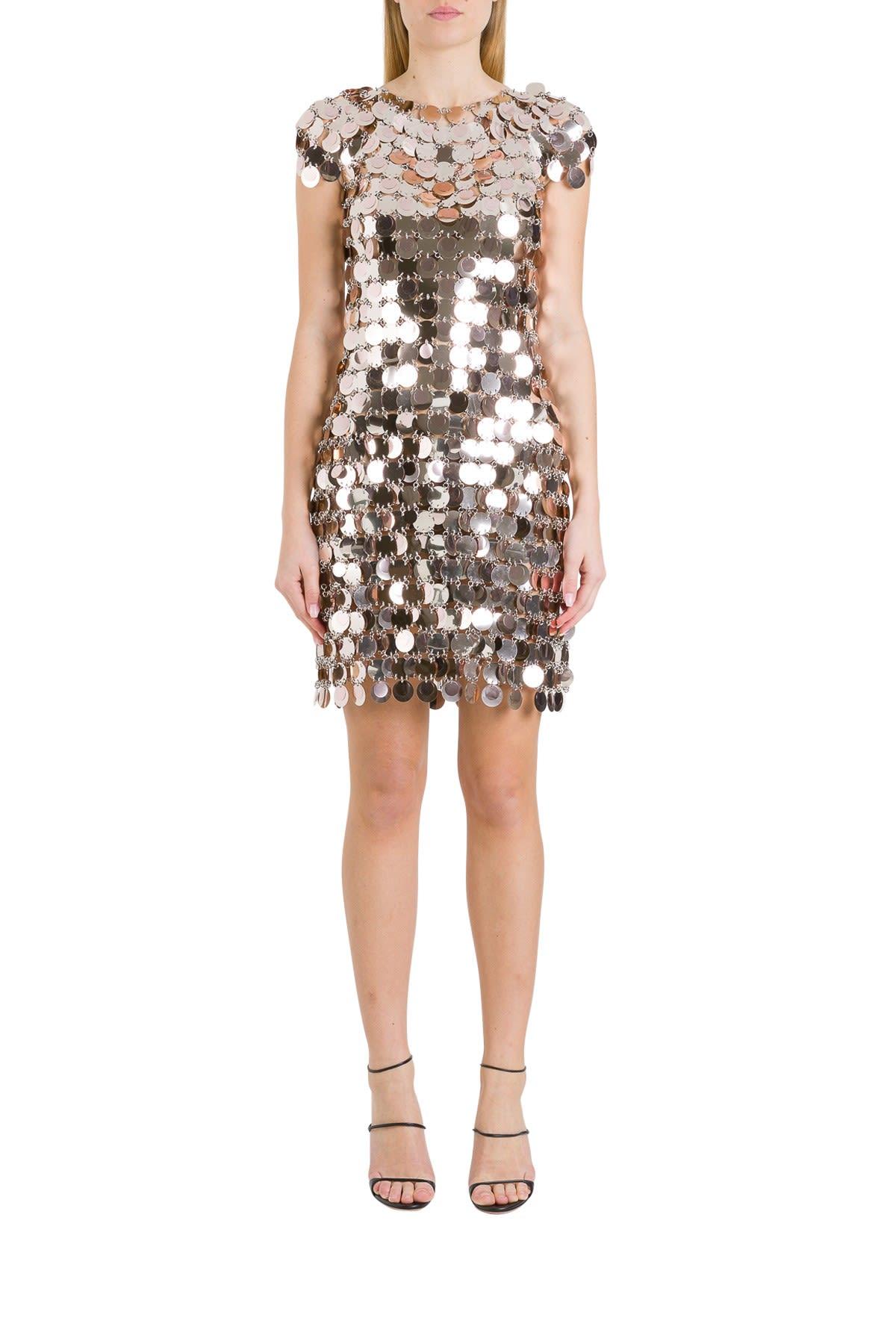 Paco Rabanne Metallic Dress