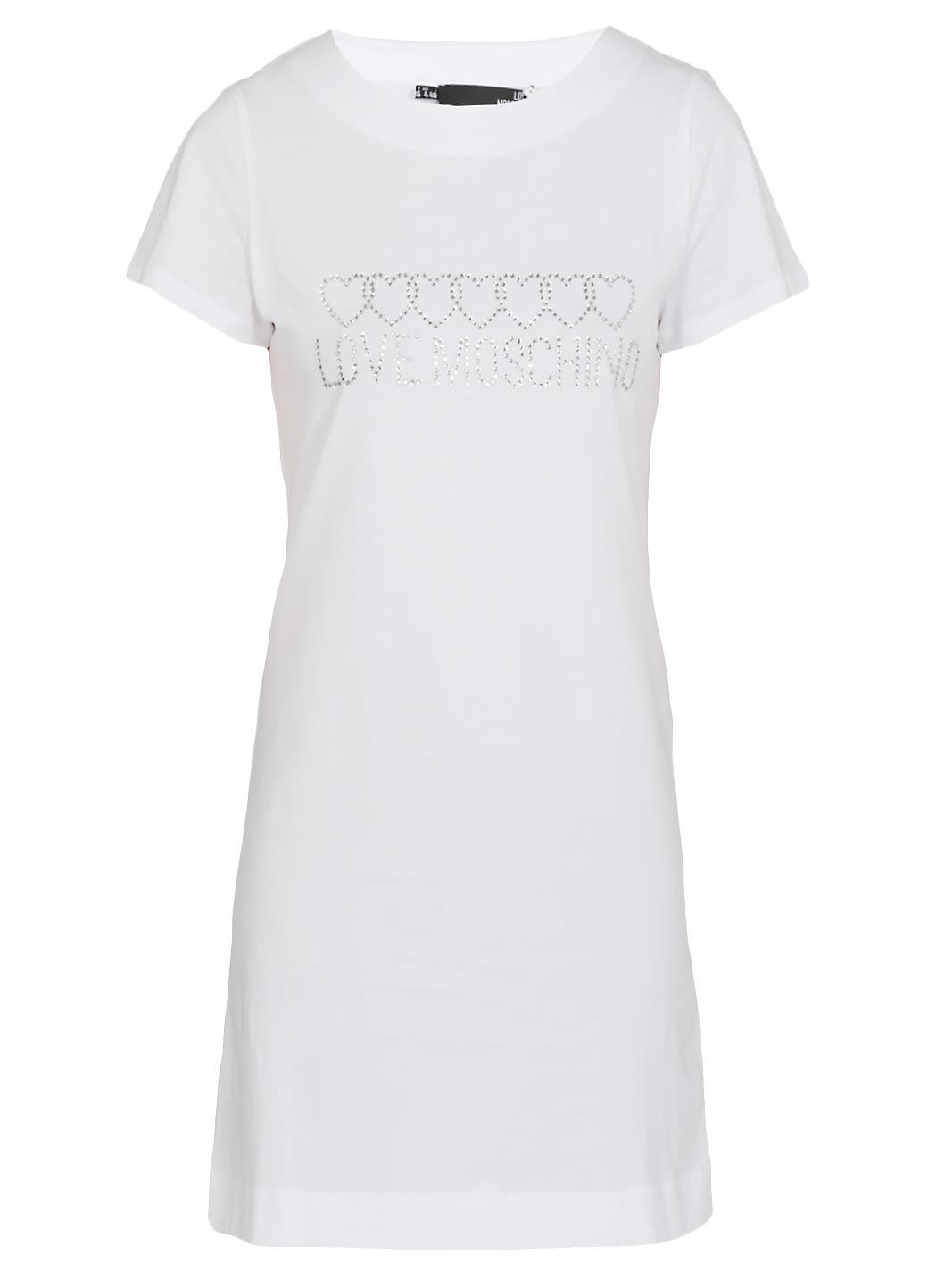 Love Moschino Logo Dress