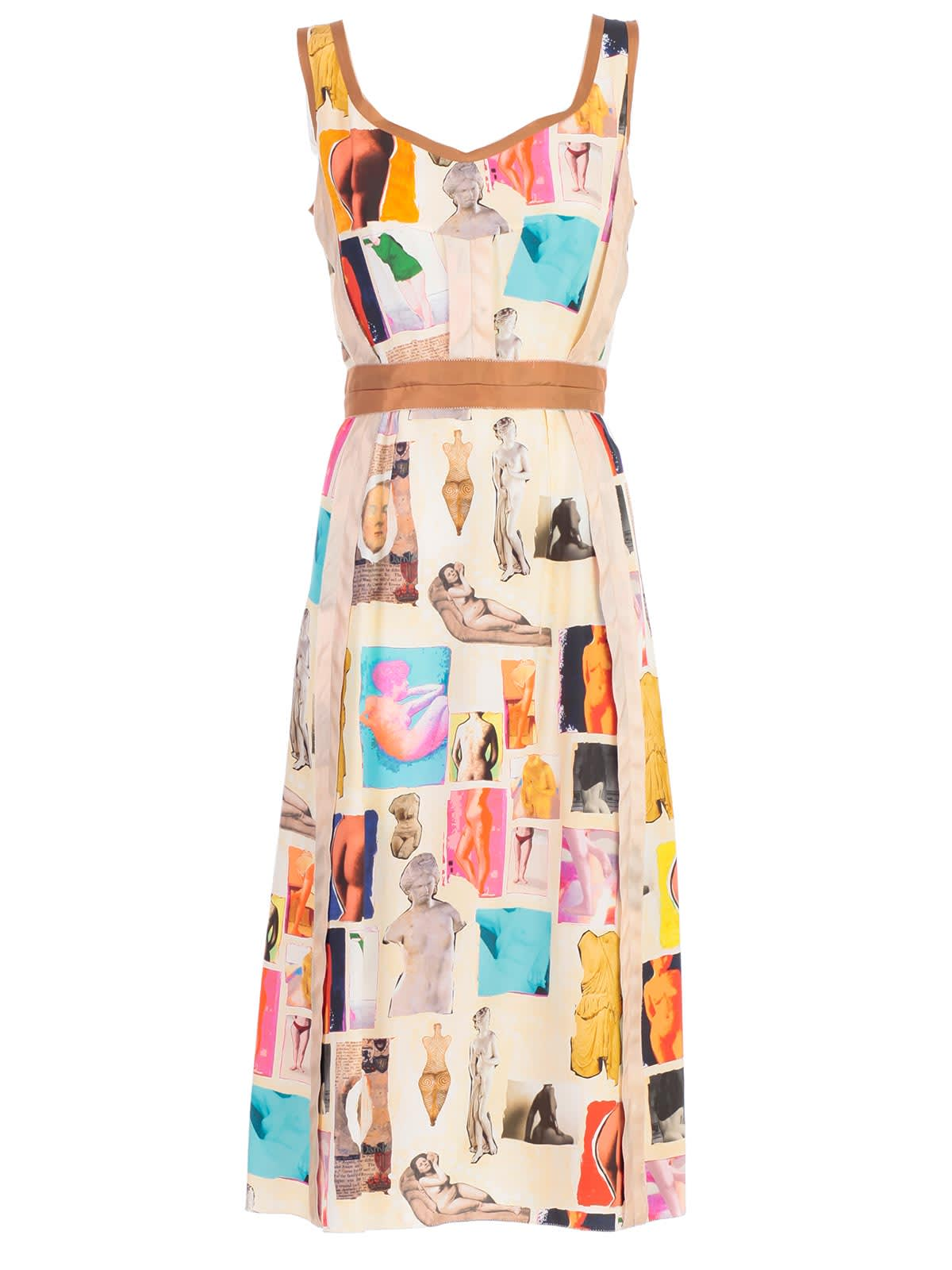 Buy Marni Printed Detail Dress online, shop Marni with free shipping