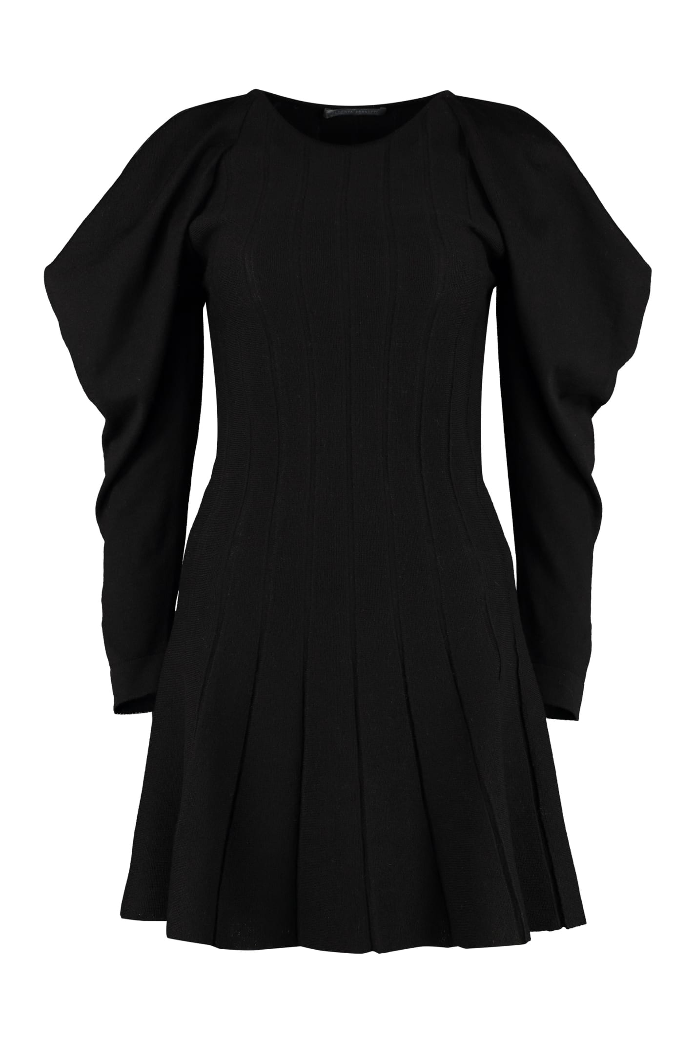 Alberta Ferretti Ribbed Knit Dress