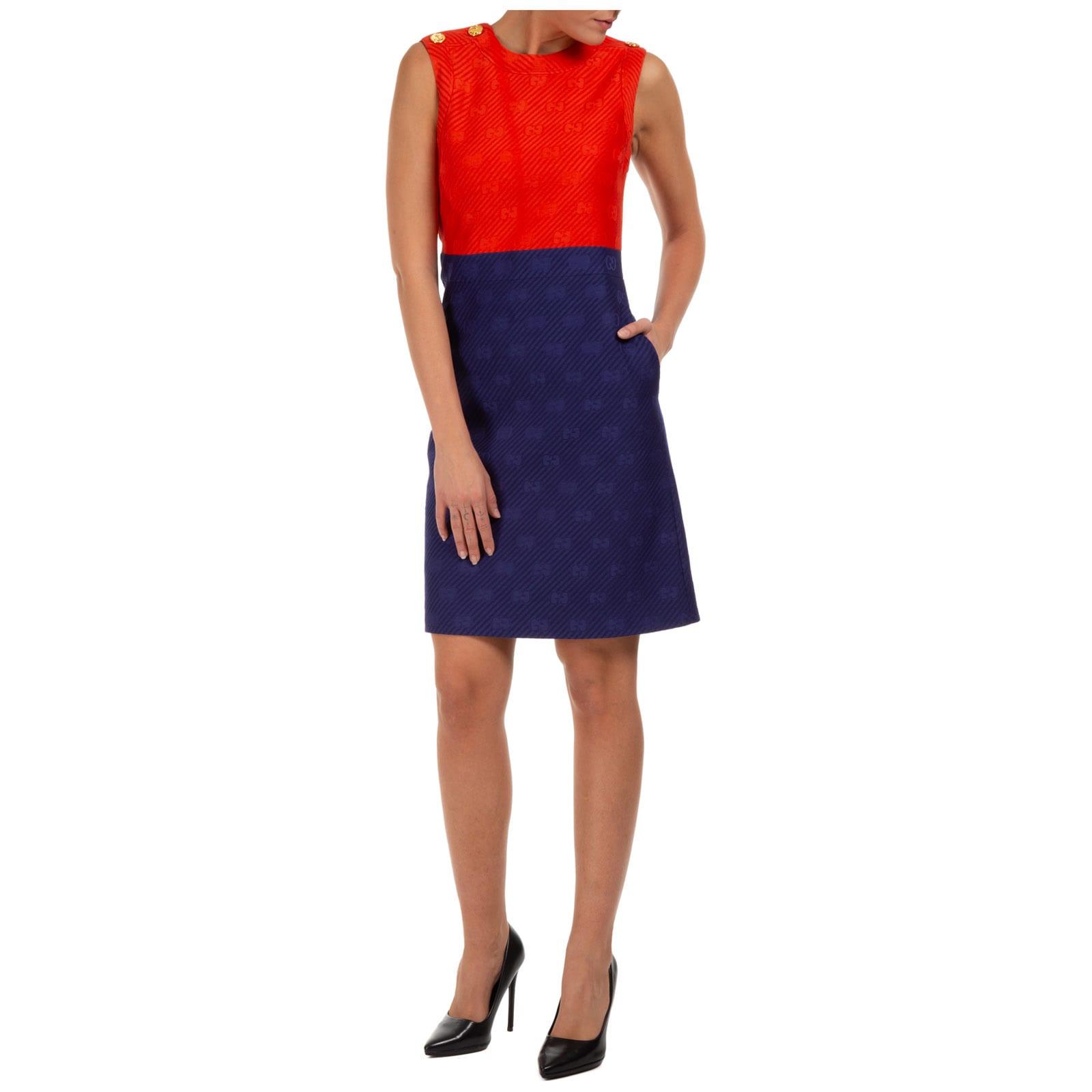 Gucci Doppia Gg Mini Dress