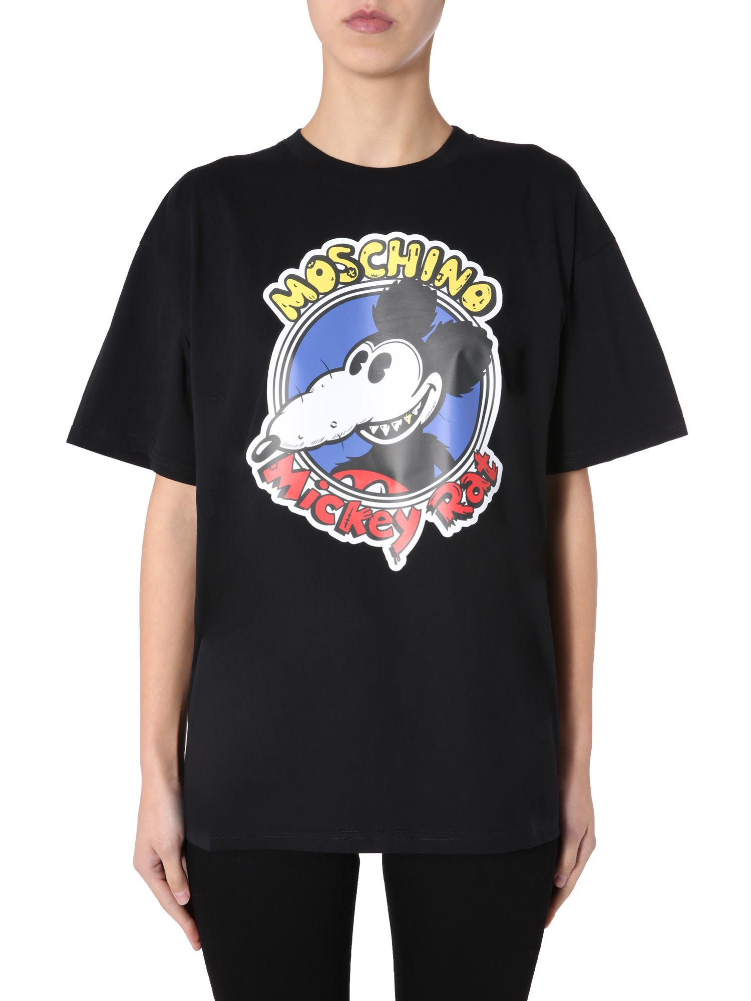 Moschino Chinese New Year T-shirt In Nero