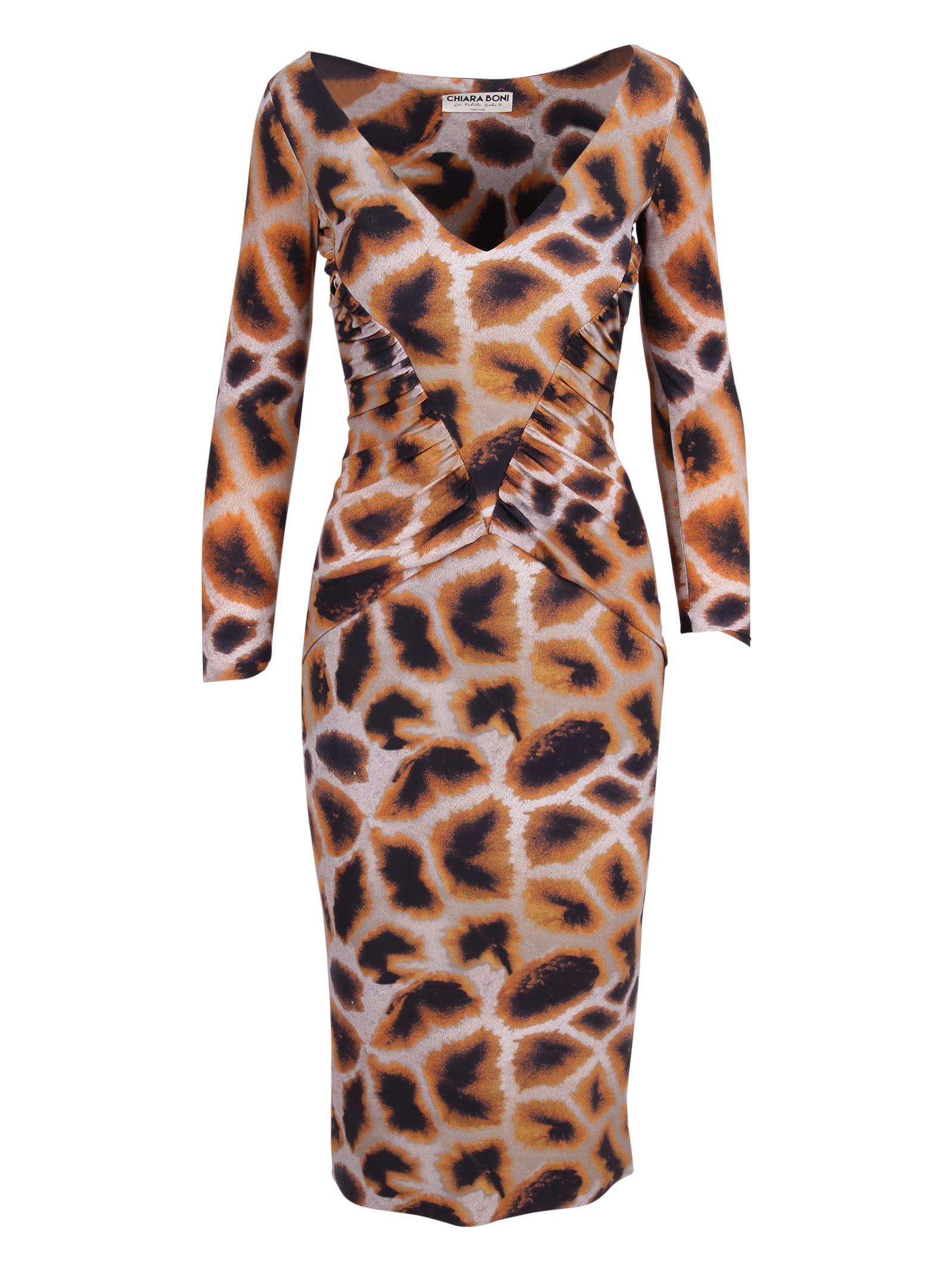 Buy La Petit Robe Di Chiara Boni Le Petite Robe Di Chiara Boni gigliola Print Polyamide Dress online, shop La Petit Robe Di Chiara Boni with free shipping