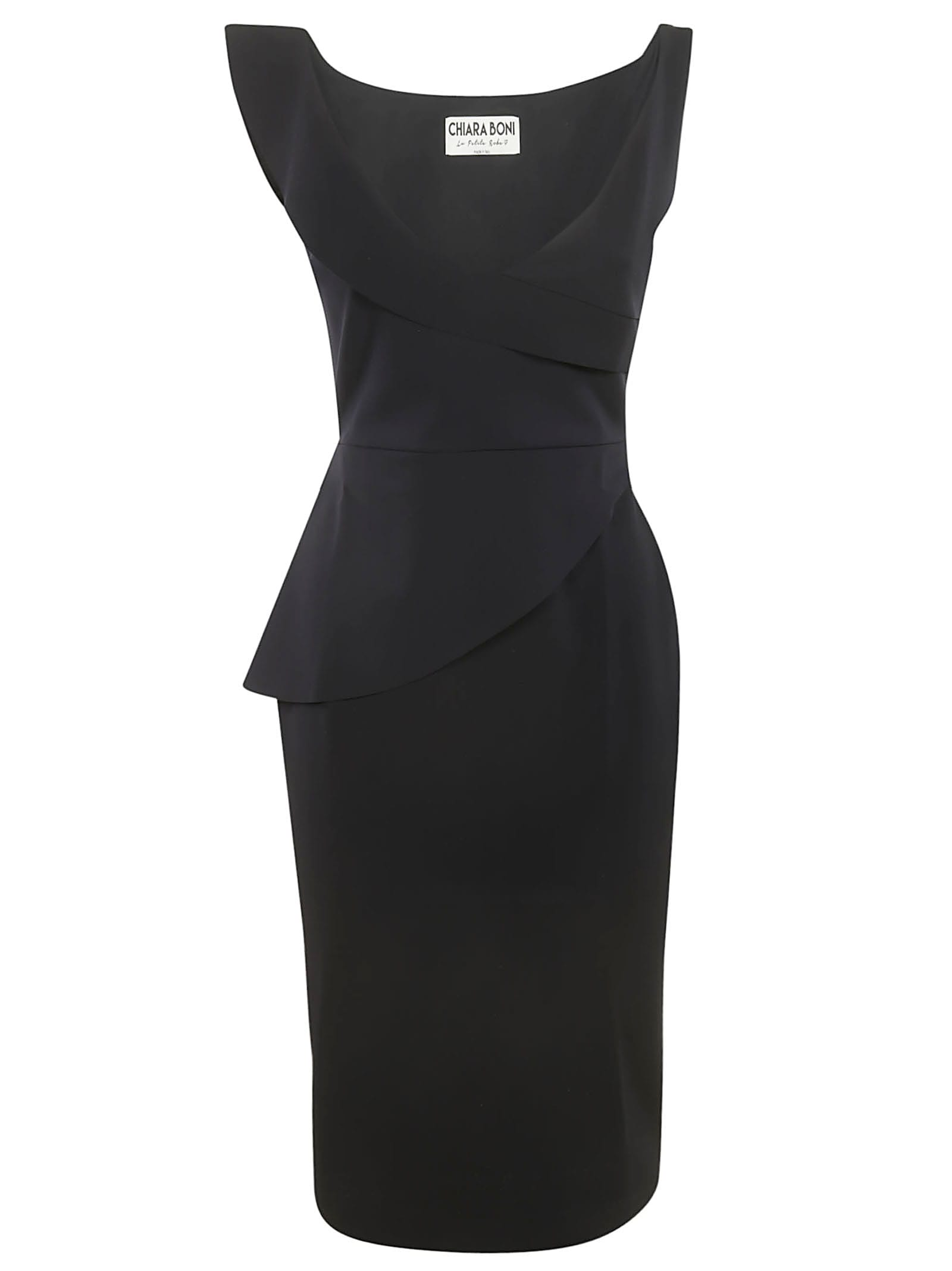 Buy La Petit Robe Di Chiara Boni Sleeveless V-neck Dress online, shop La Petit Robe Di Chiara Boni with free shipping
