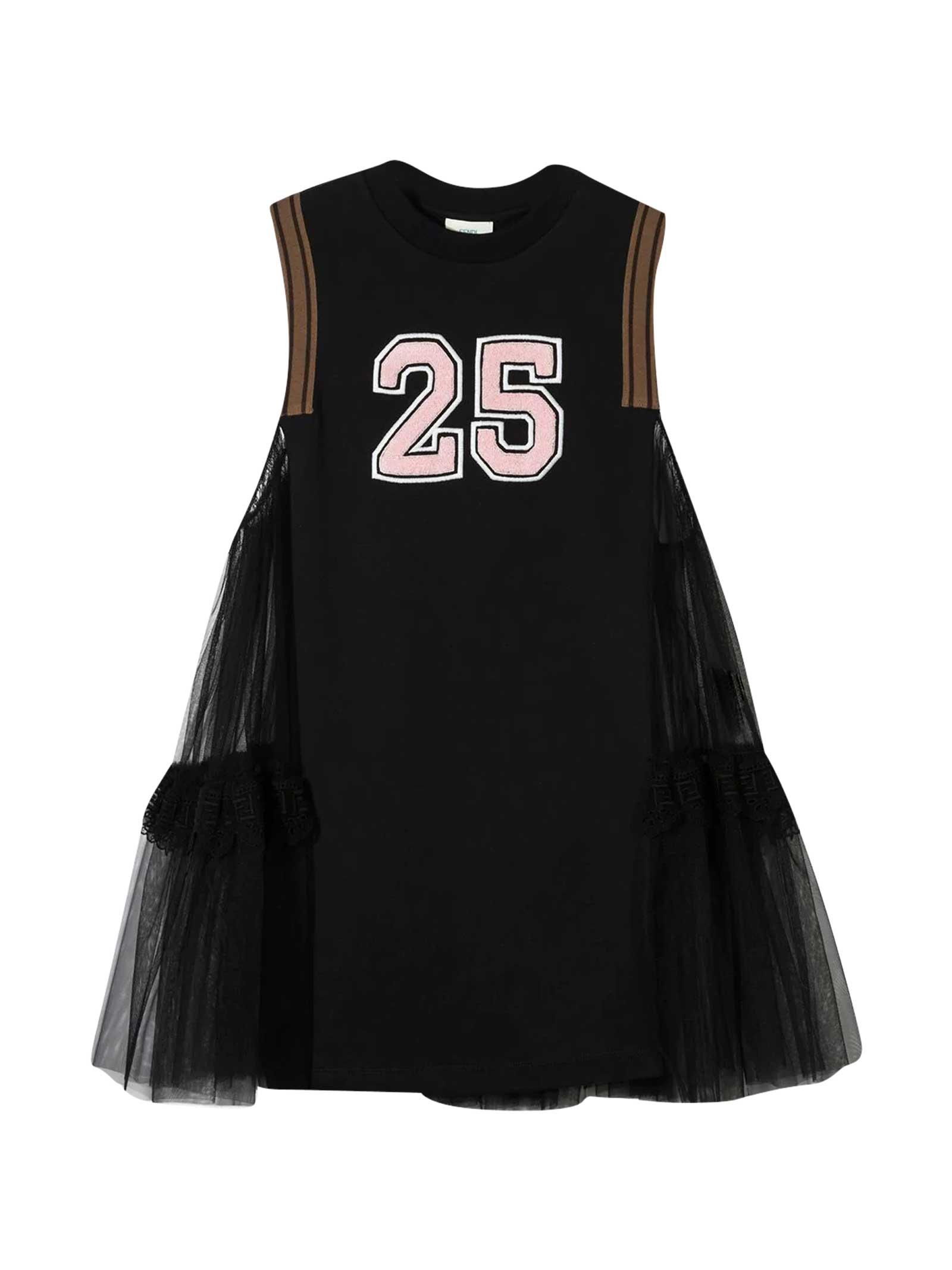 Fendi Cottons BLACK DRESS