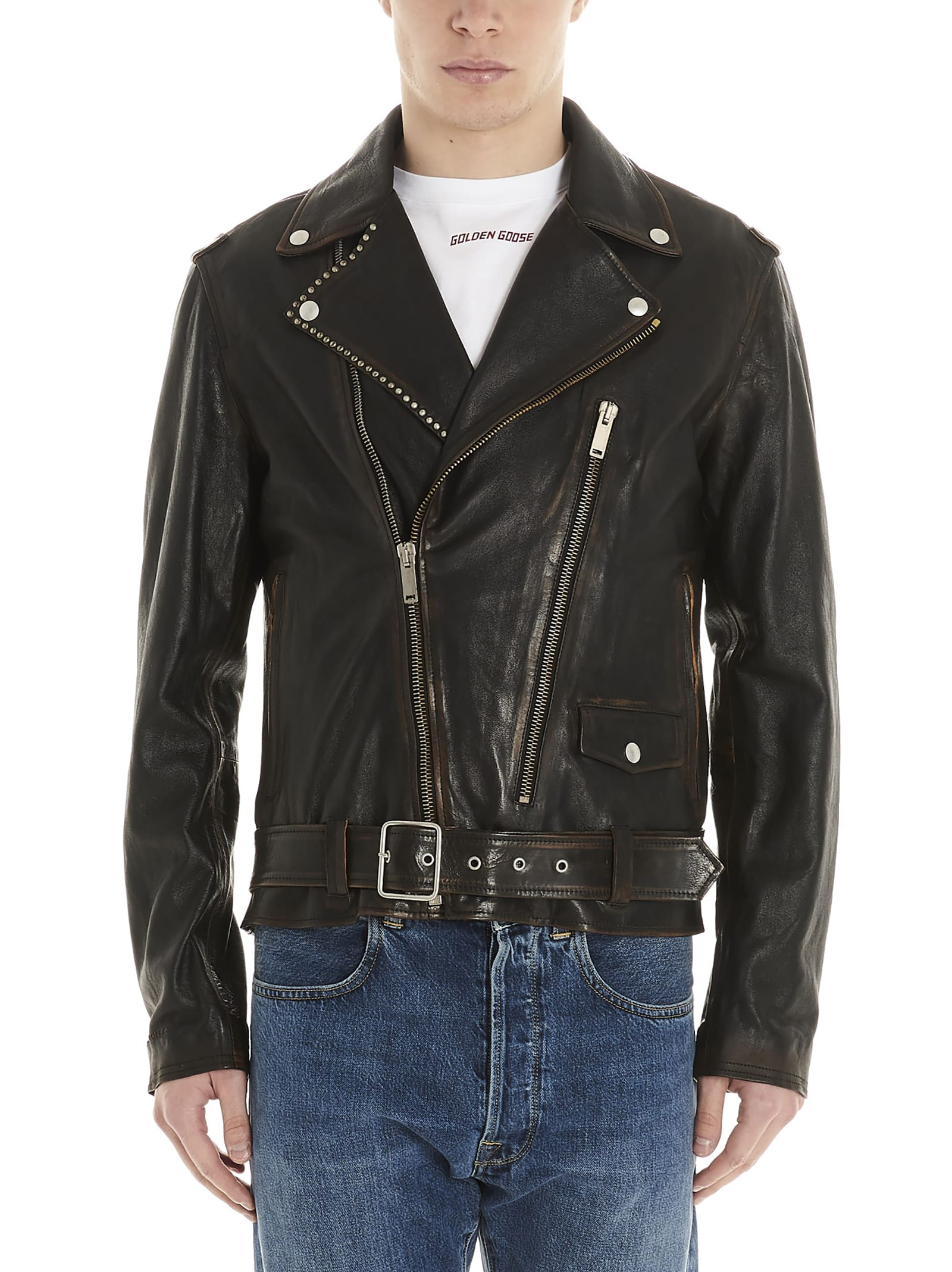 ryan Coat From Golden Goose: leather ryan CoatComposition: 100% ovine leather