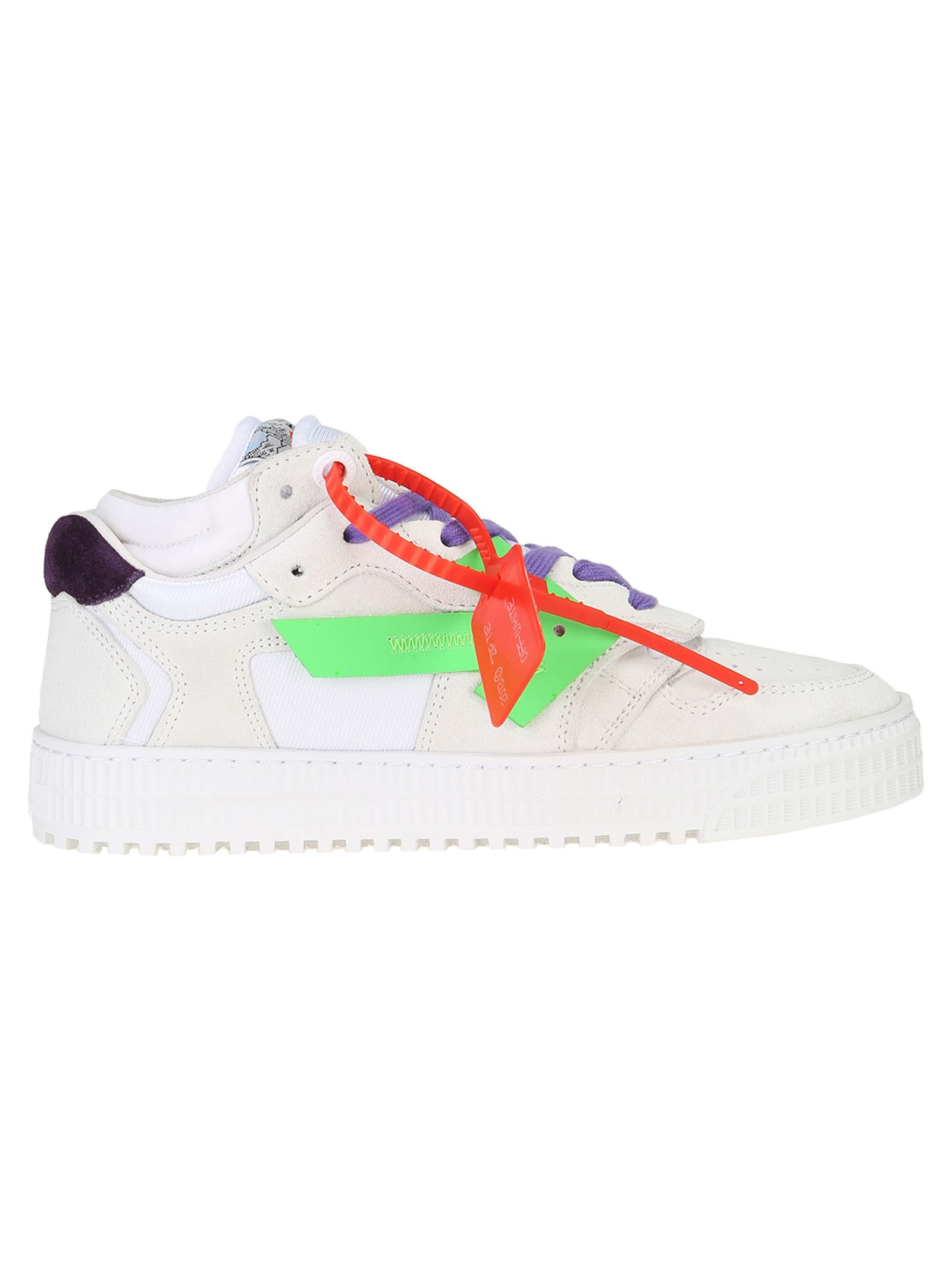 OFF-WHITE OFF WHITE OFF-COURT LOW-TOP SNEAKERS