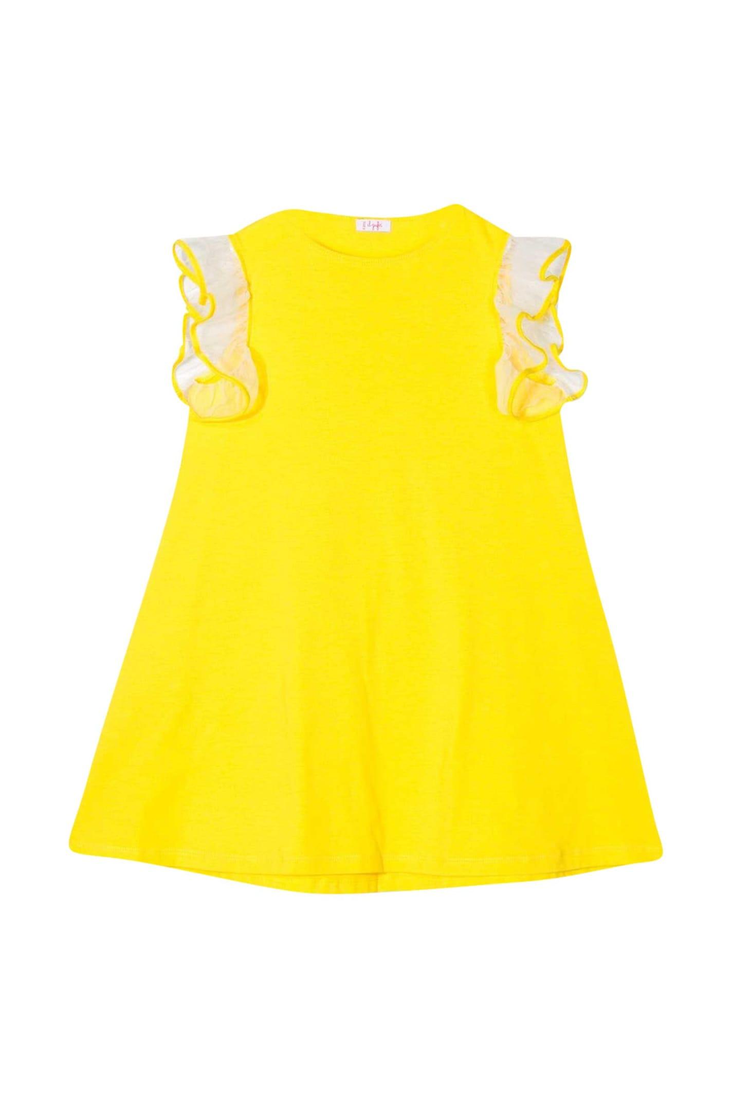 Buy Il Gufo Kids Round-neck Dress online, shop Il Gufo with free shipping