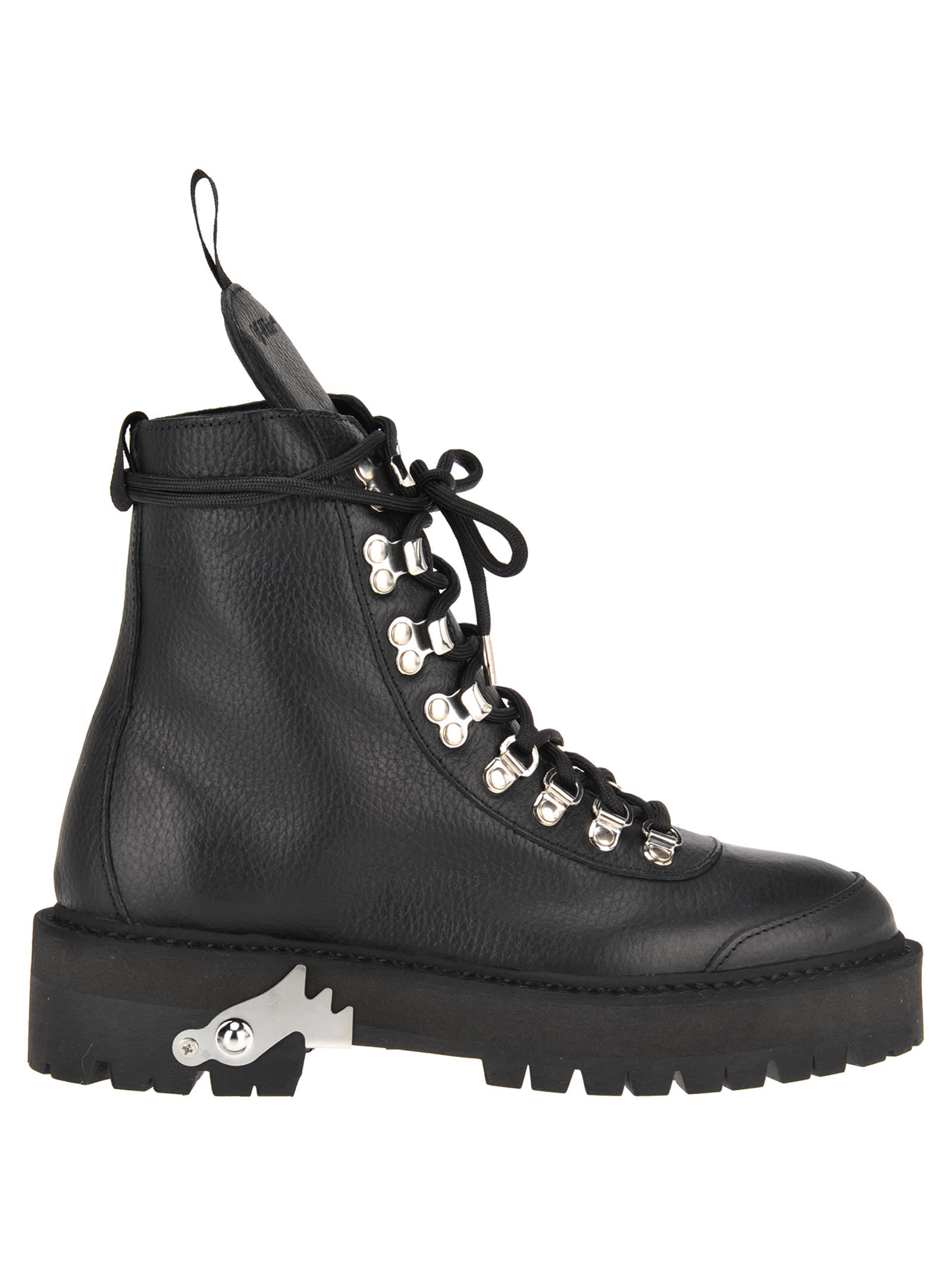 329b7545f03 Off White Leather Hiking Boot