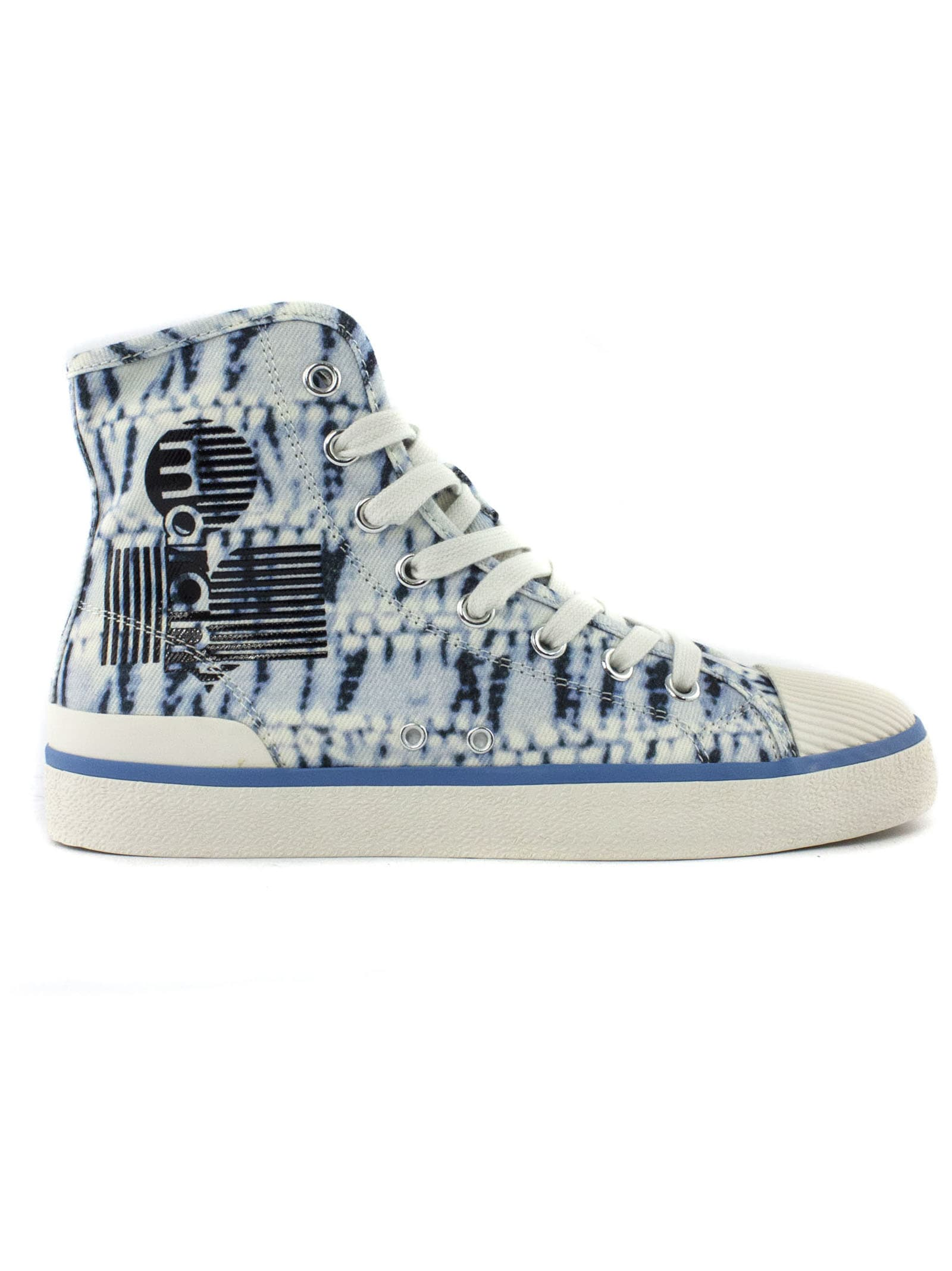 Isabel Marant Cotton High-top Sneakers