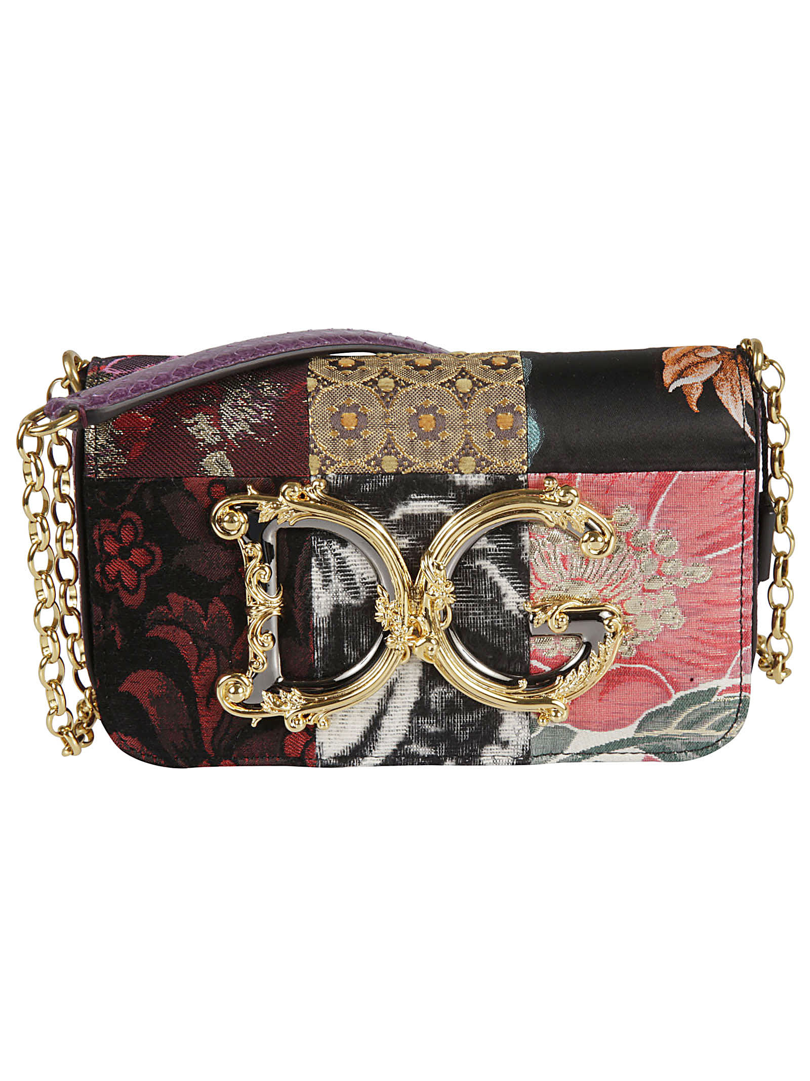 Dolce & Gabbana AYERS PATCHED MINI SHOULDER BAG
