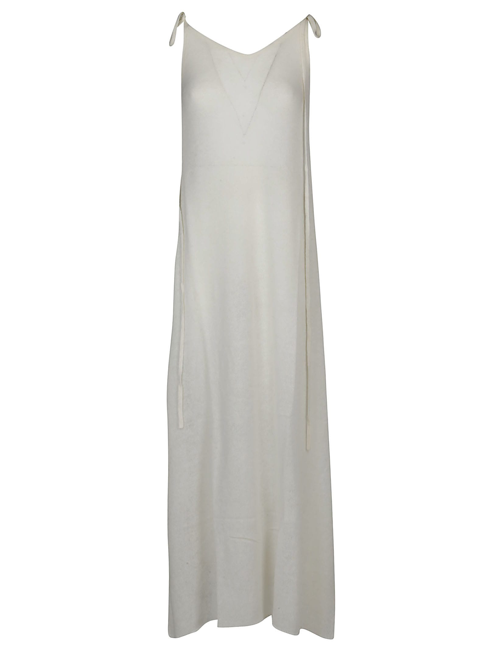 Alanui Etheral Knitted Slip Dress